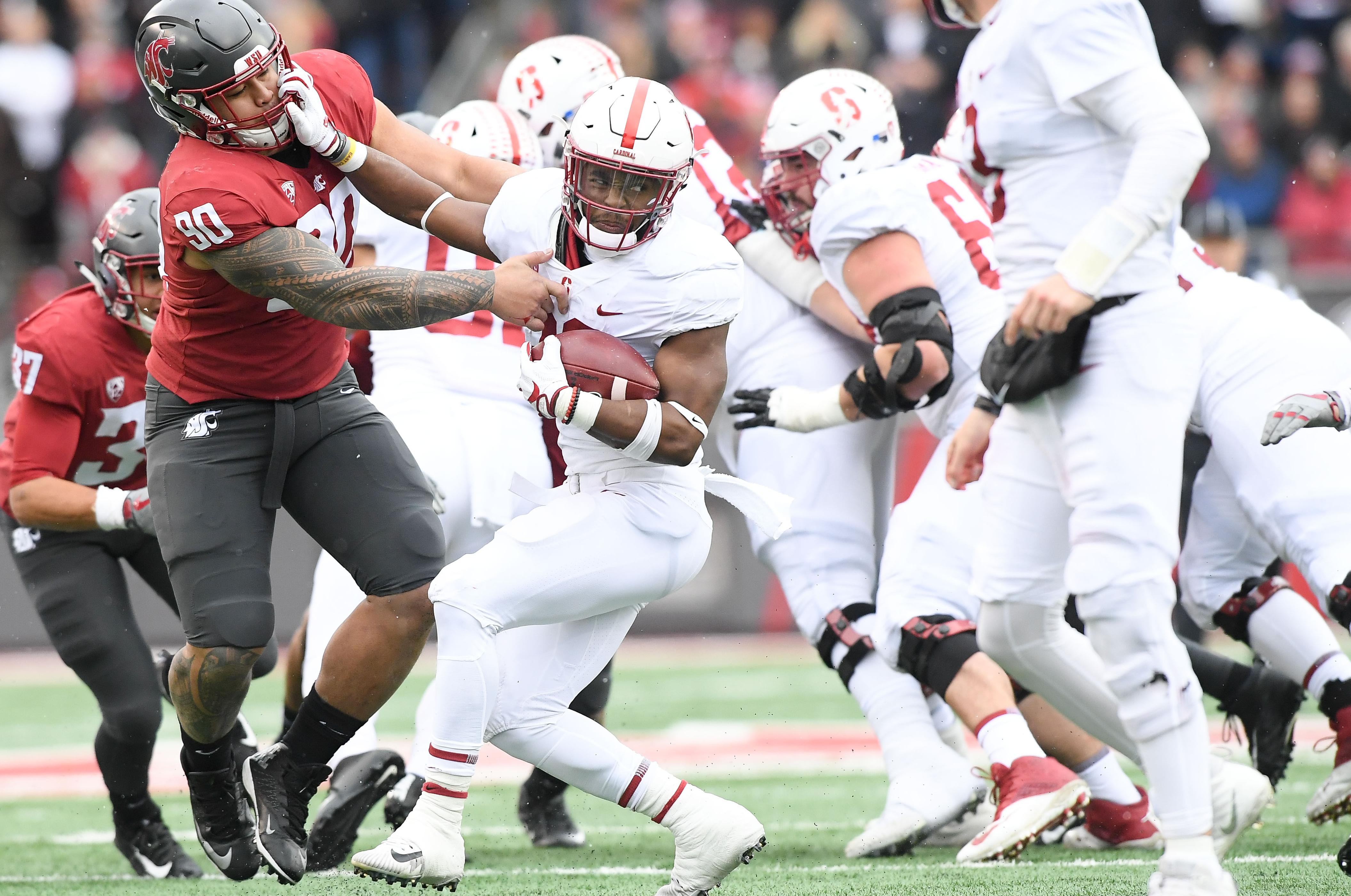 Cougars won by keeping Bryce Love in check | The Spokesman