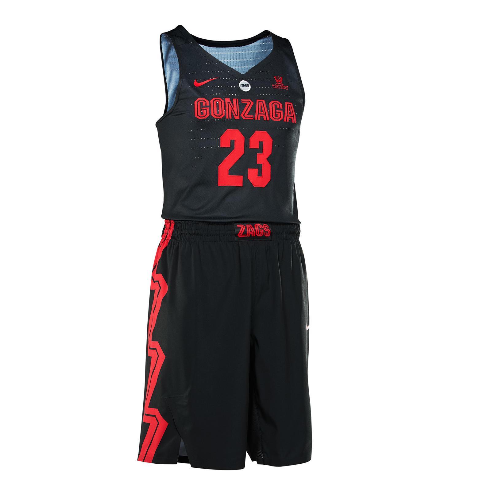 gonzaga donning special nike uniforms at pk80 the spokesman review rh spokesman com VCU Basketball Logo North Carolina Basketball Logo