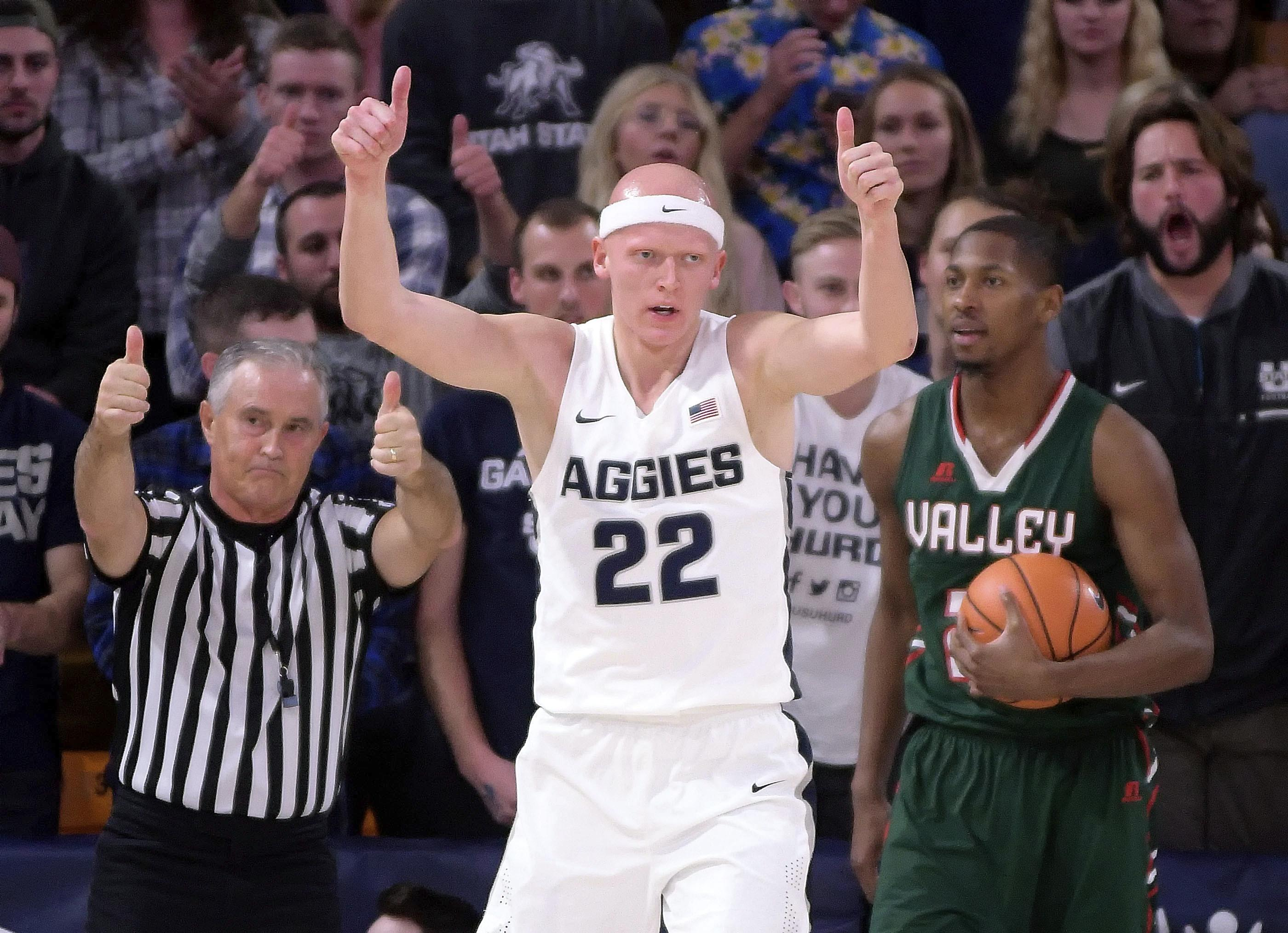 gonzaga expects tougher test from utah state | the spokesman-review