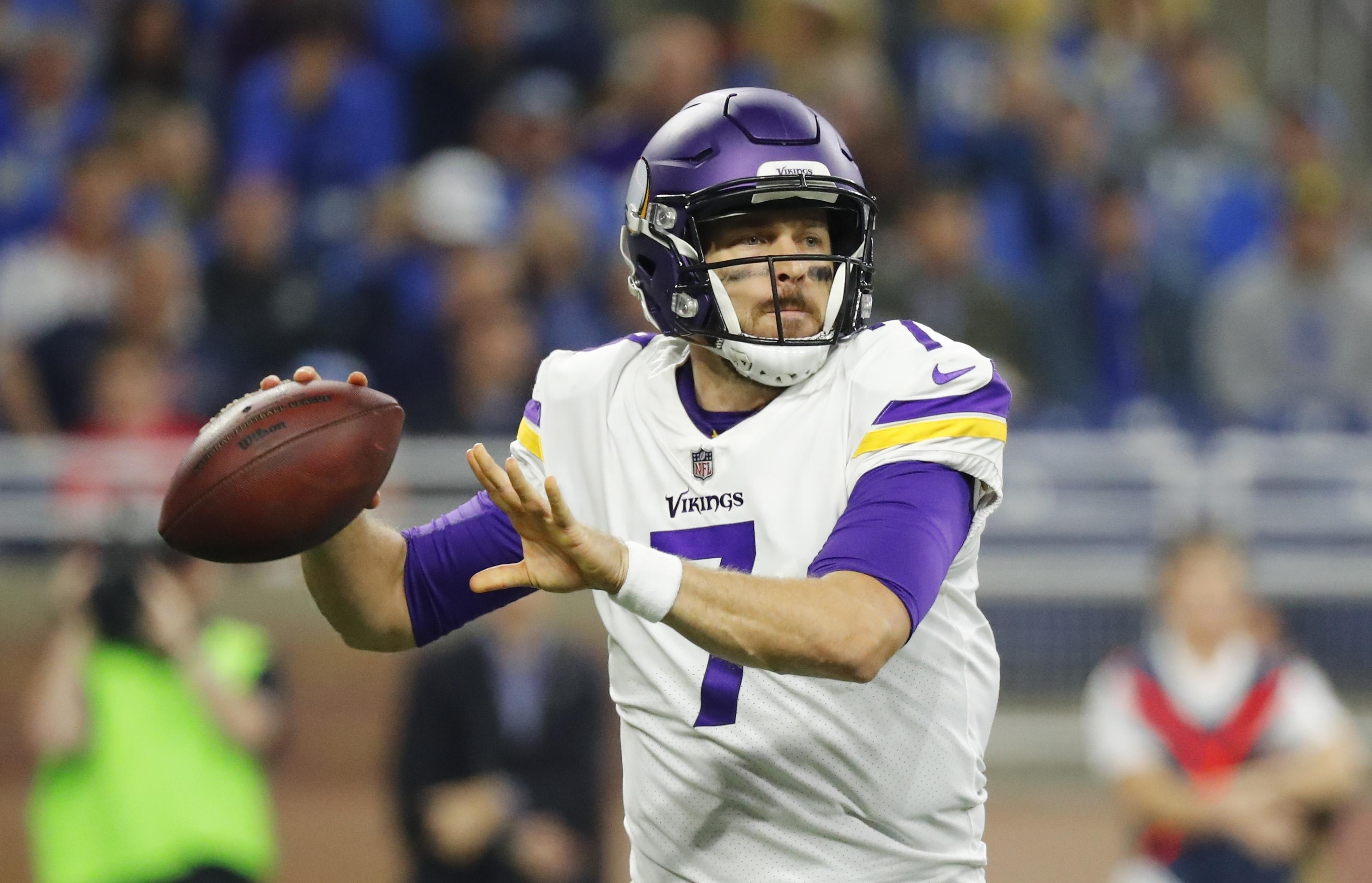 15d78e38 Case Keenum-led Vikings beat Lions 30-23, add to division lead | The ...