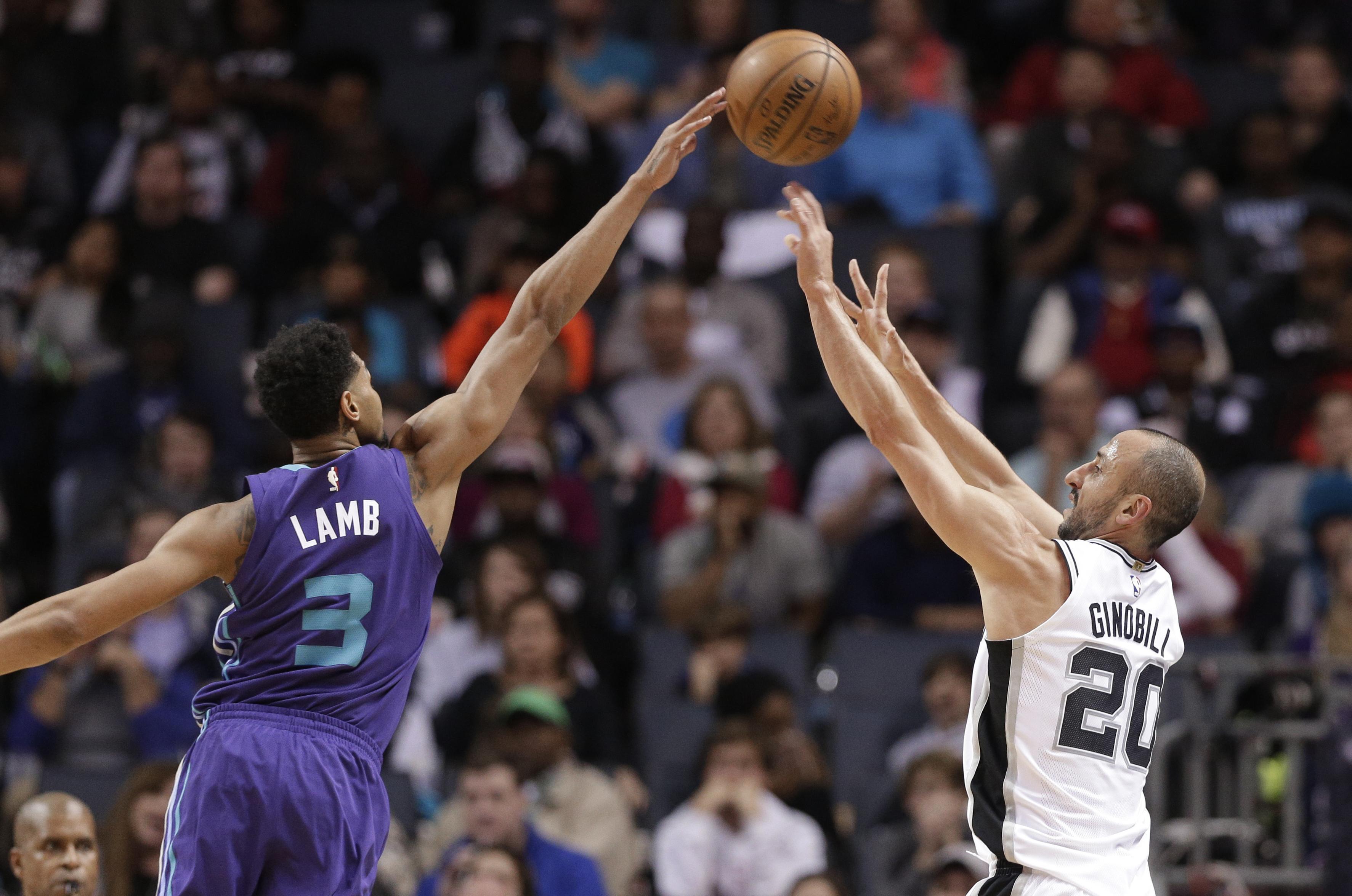 0ffb9d34f27f NBA capsules  Spurs beat Hornets behind 17 from LaMarcus Aldridge ...