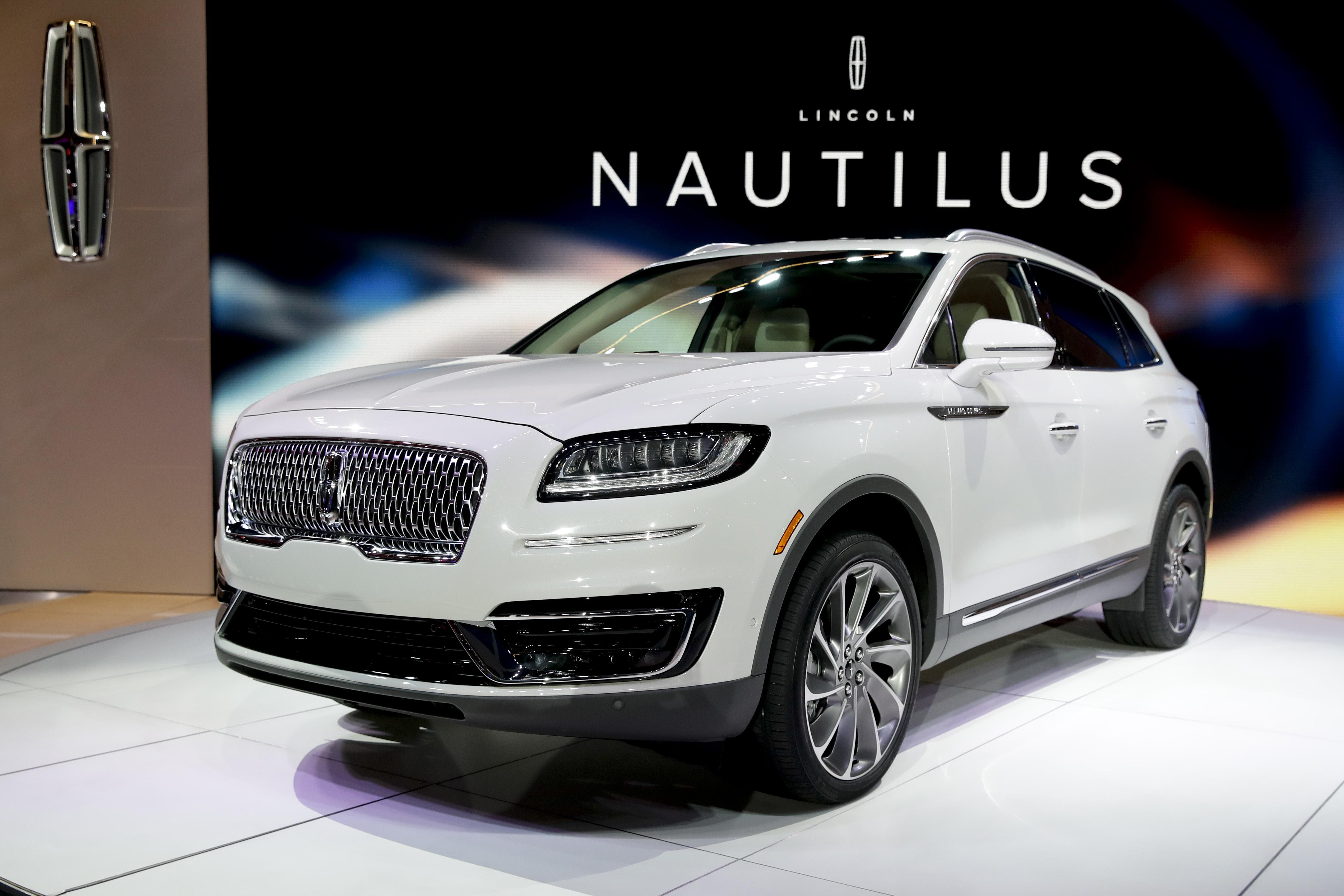 The 2019 Lincoln Nautilus Is Introduced During Los Angeles Auto Show Wednesday Nov
