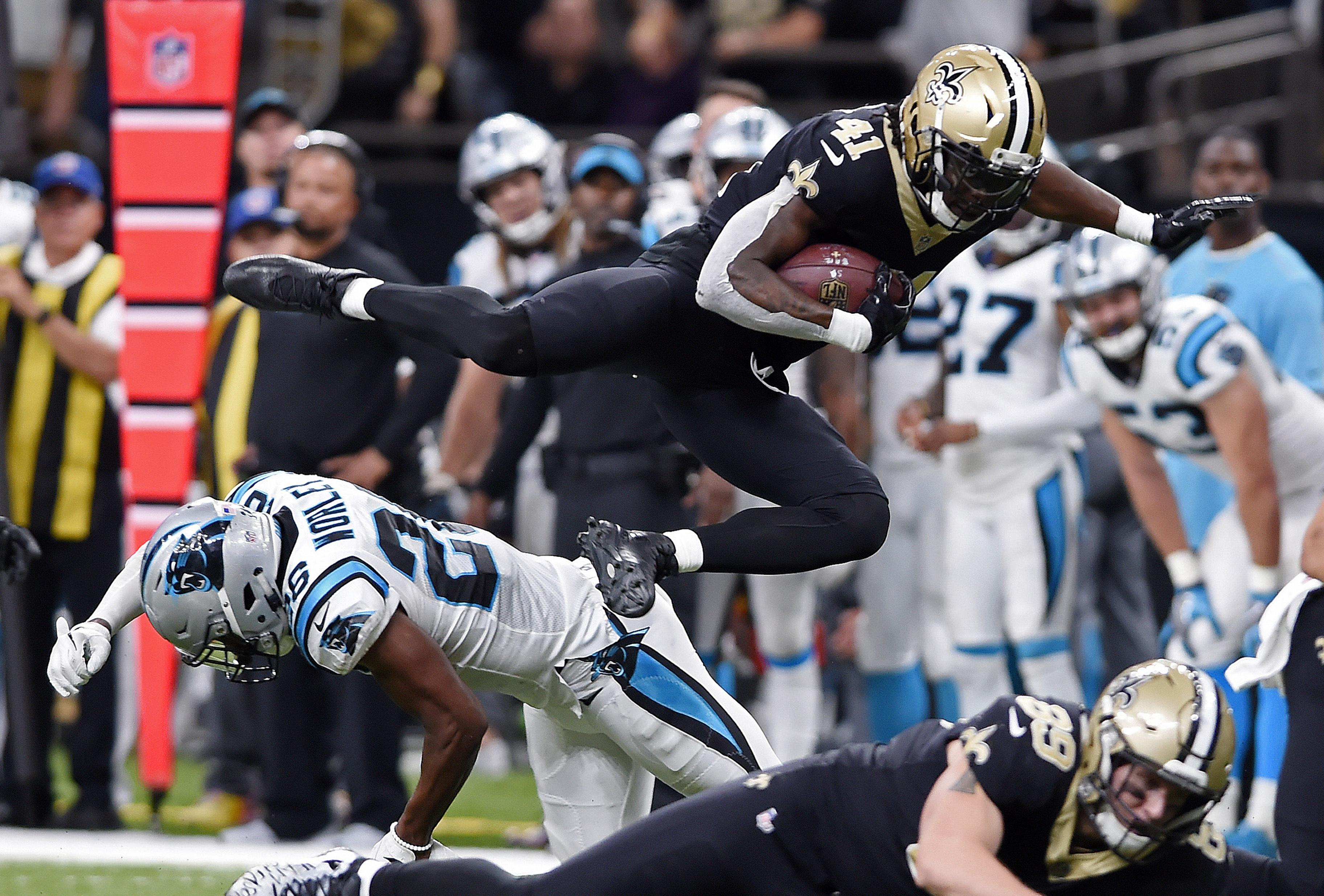 cff615770 All eyes on the running backs in Saints-Falcons showdown