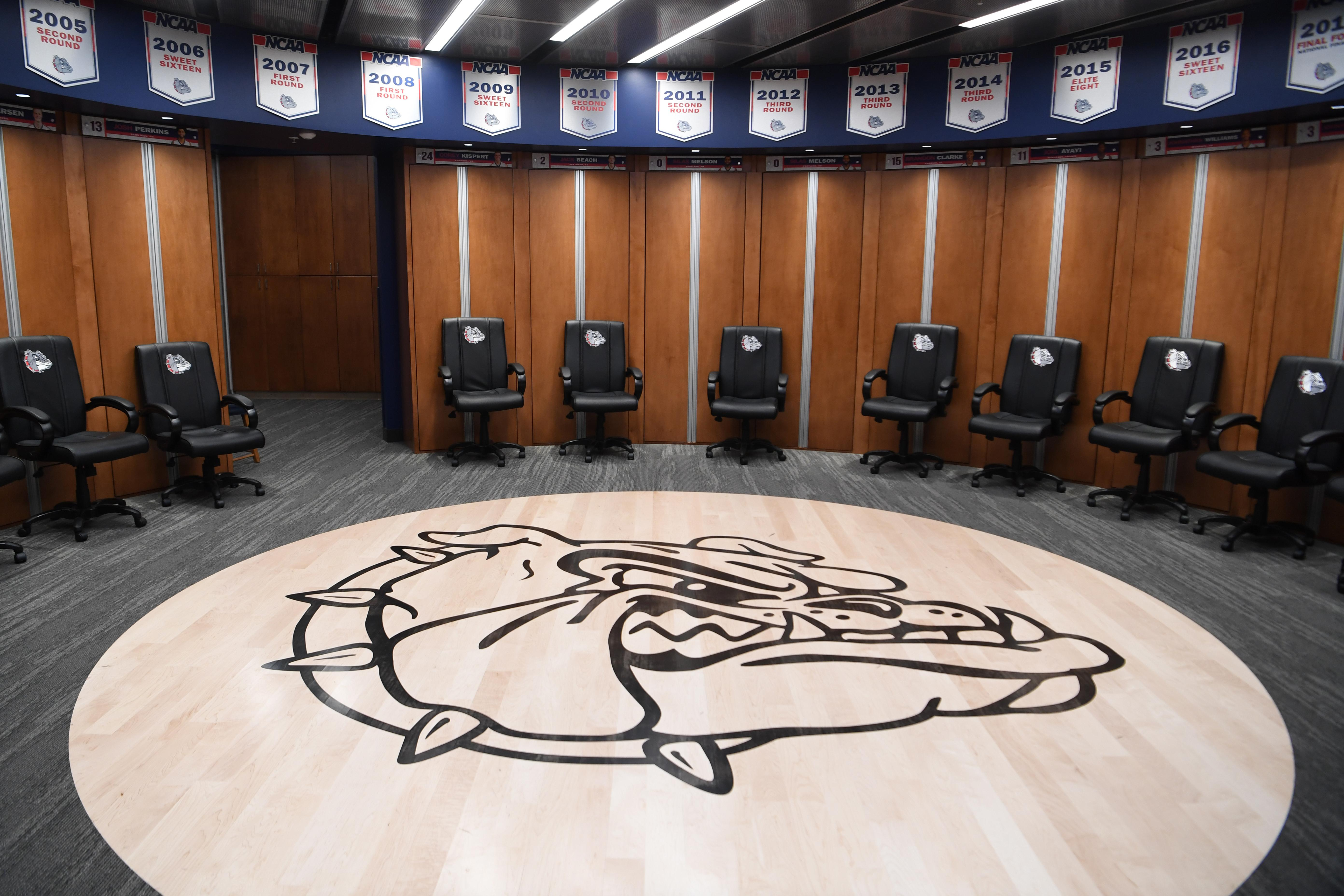 Gonzaga Men S Basketball Locker Room The Spokesman Review