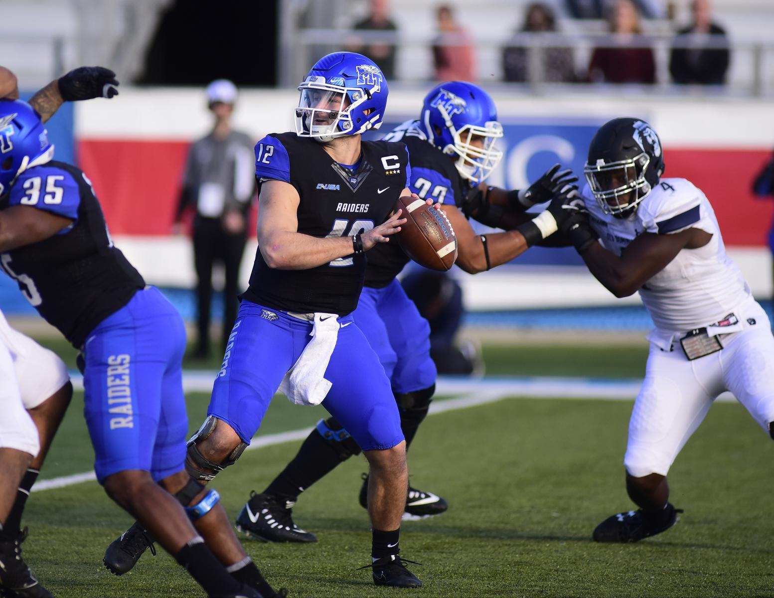 Middle Tennessee tops Arkansas State 35-30 in Camellia Bowl