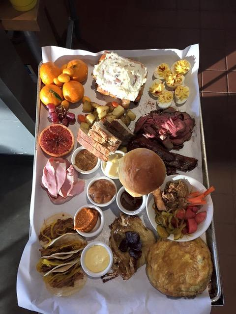 Platter Please Central Foods New Years Day Brunch Platter