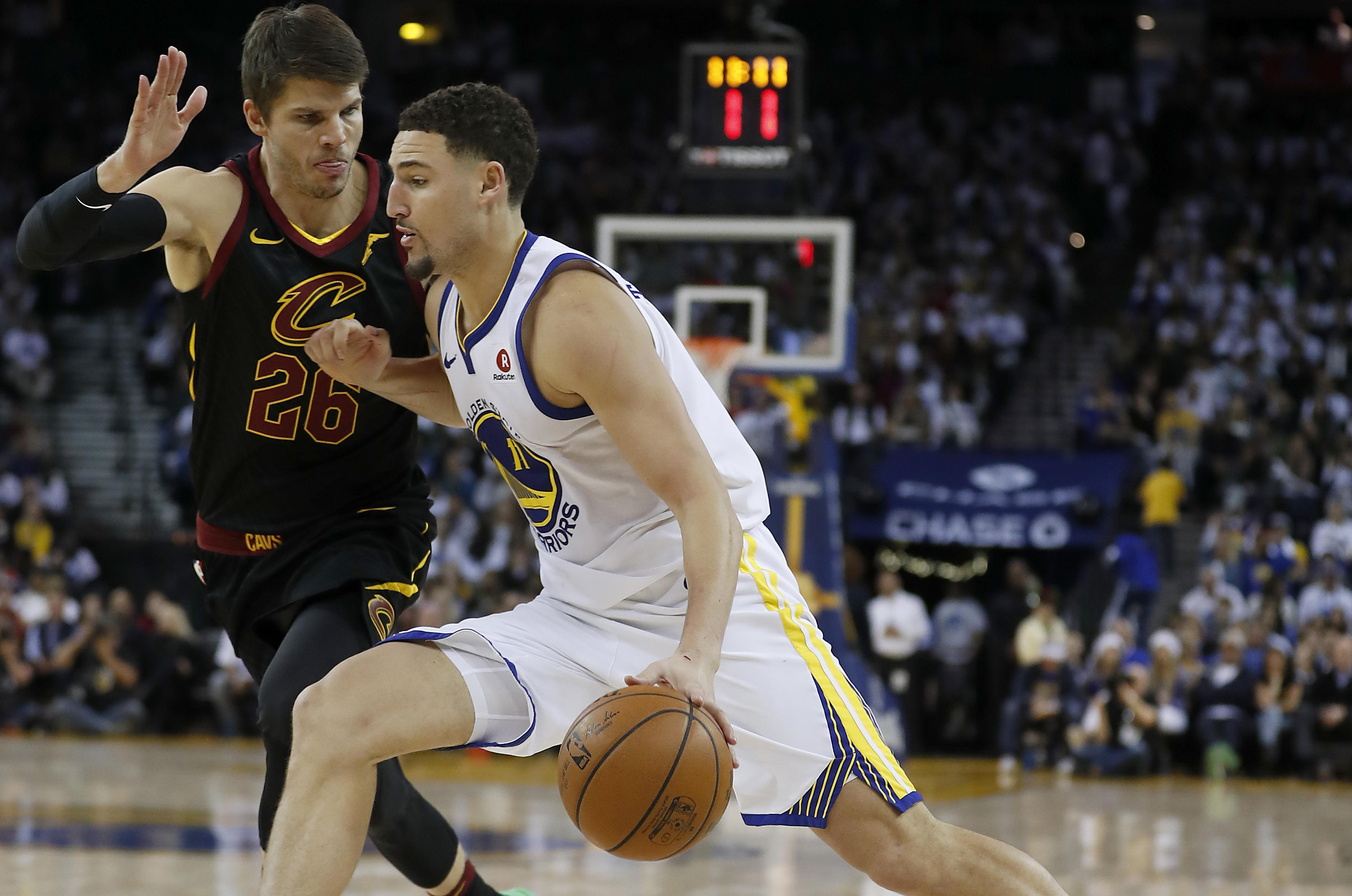 huge selection of 793e7 77777 NBA capsules: Kevin Durant leads Warriors past Cavaliers 99 ...