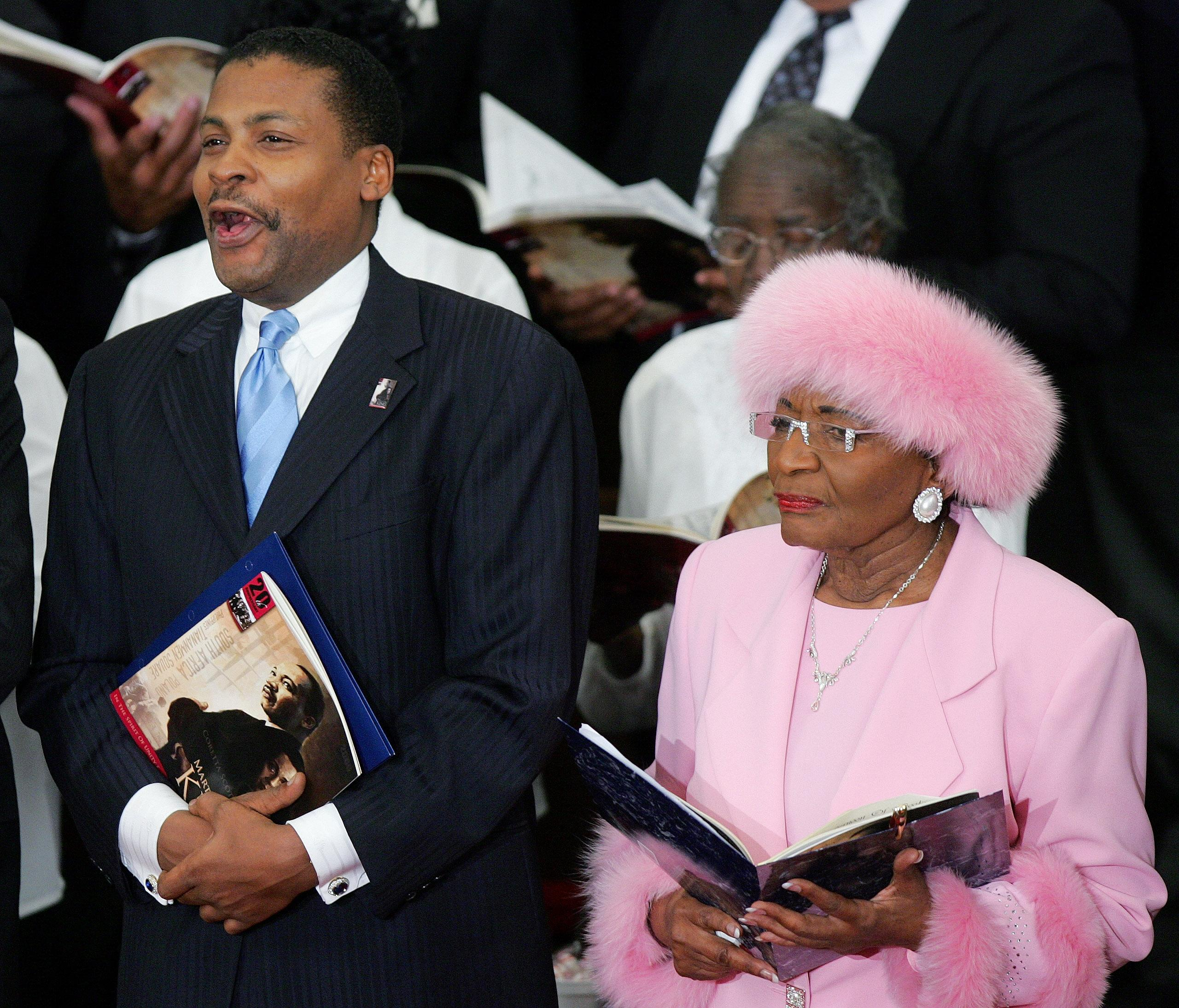 Brother In Law Of Martin Luther King Jr Dies At 83 The Spokesman