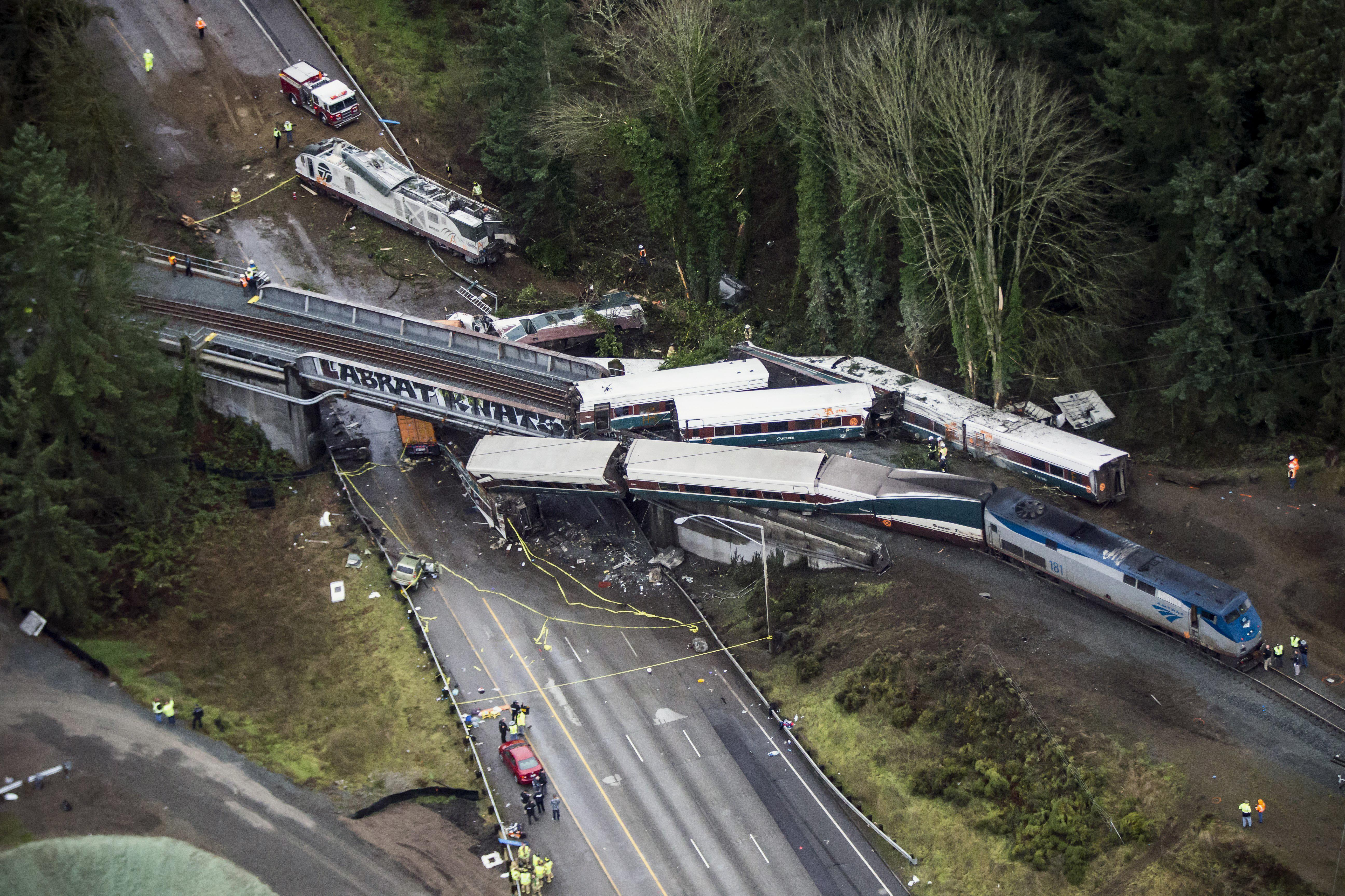 NTSB hears from witnesses on Washington state train wreck | The