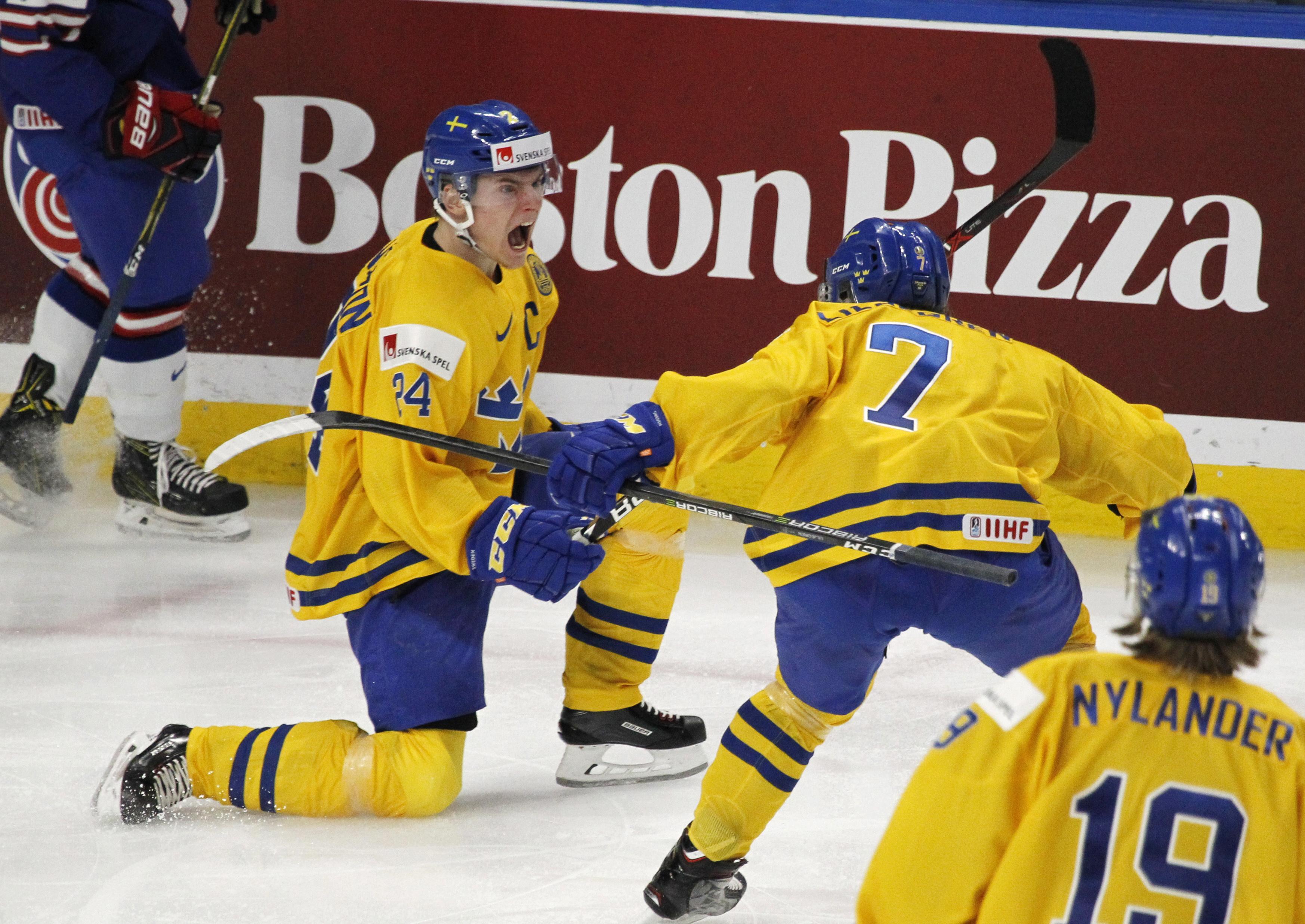 Sweden Beats U S 4 2 In World Junior Hockey Semifinals The