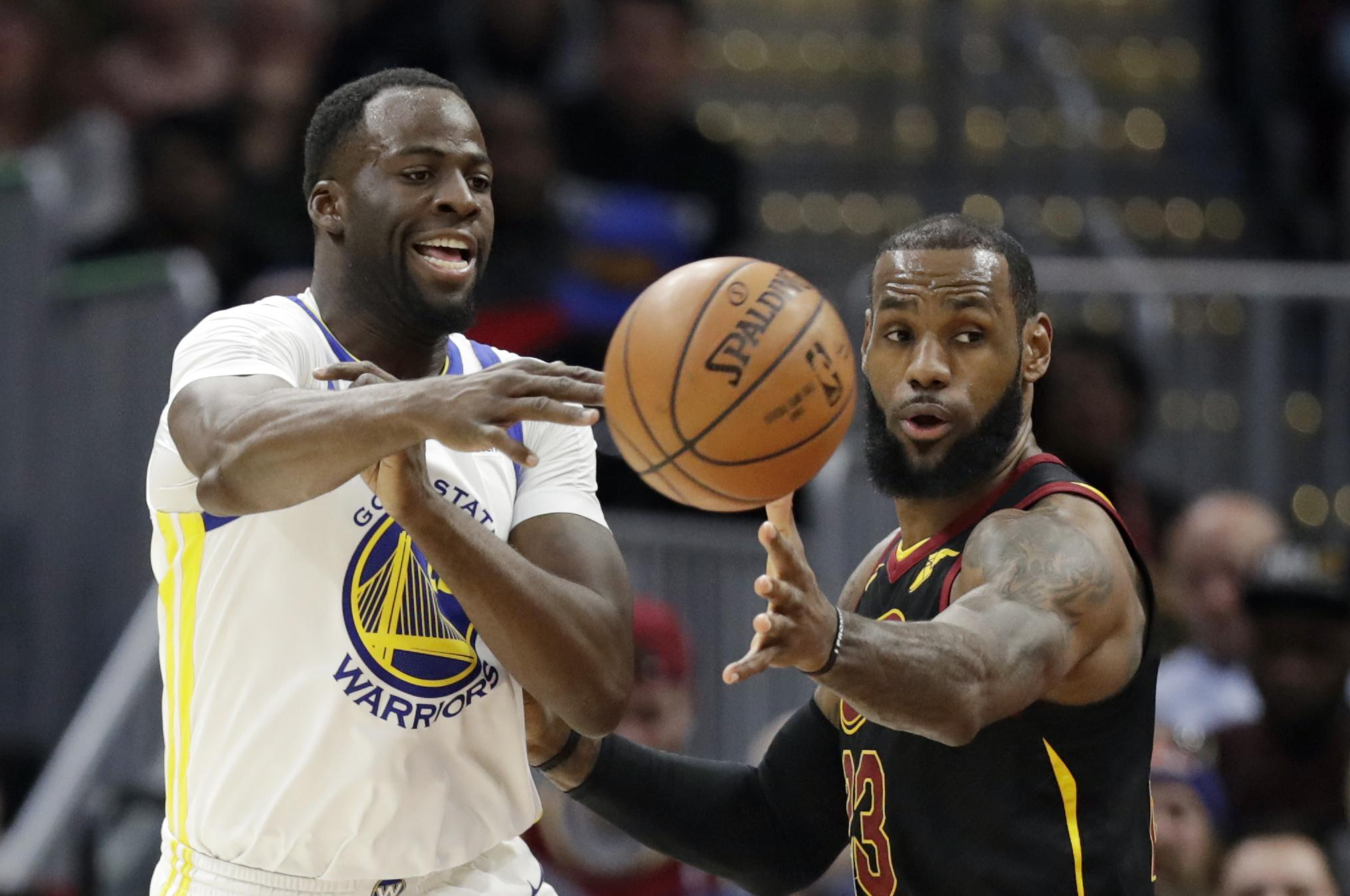 4f6fb27a308b Norman Chad says the Golden State Warriors  Draymond Green may have the  right idea -