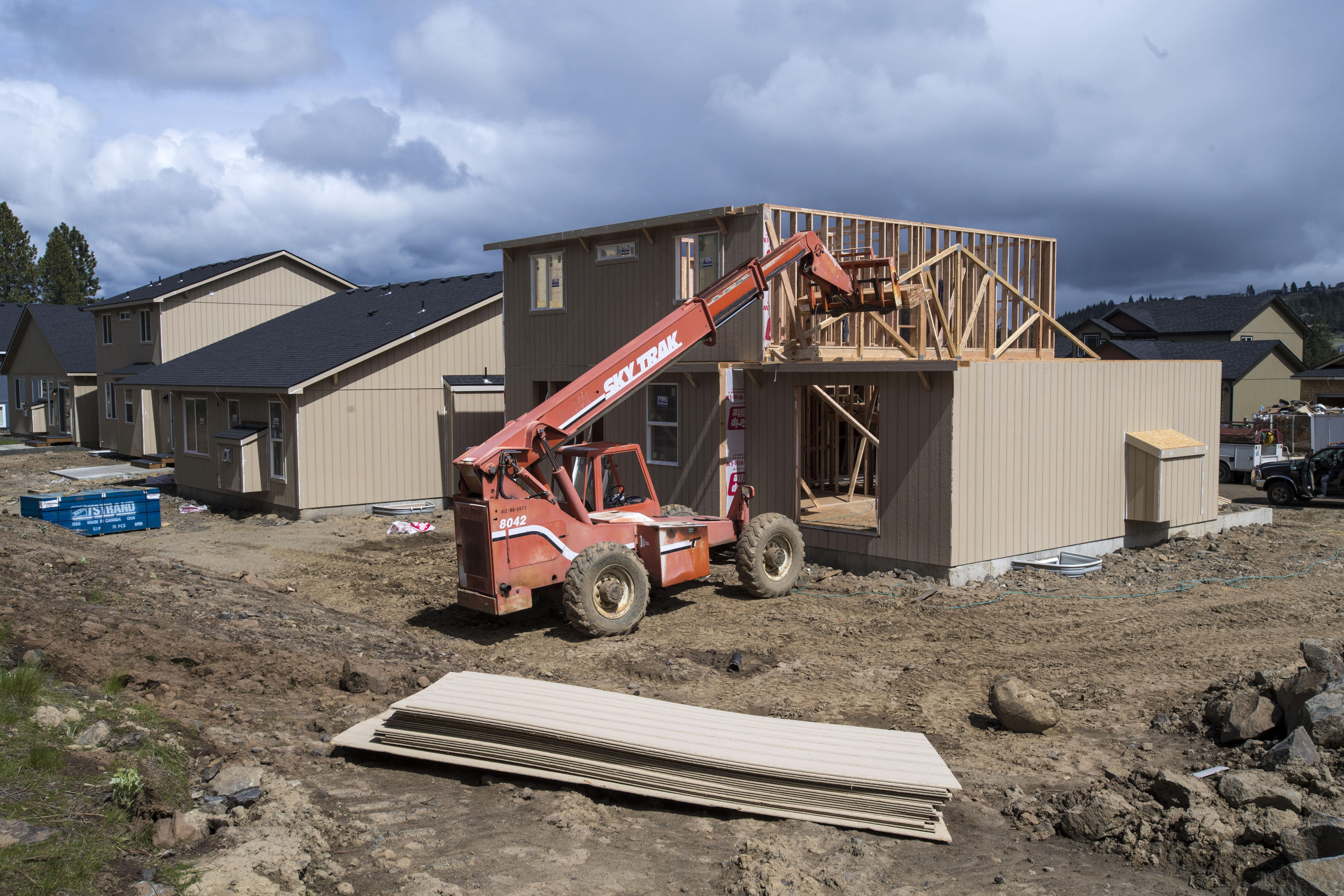 Competitive market for spokane area homebuyers will for Cost of building a house in wisconsin