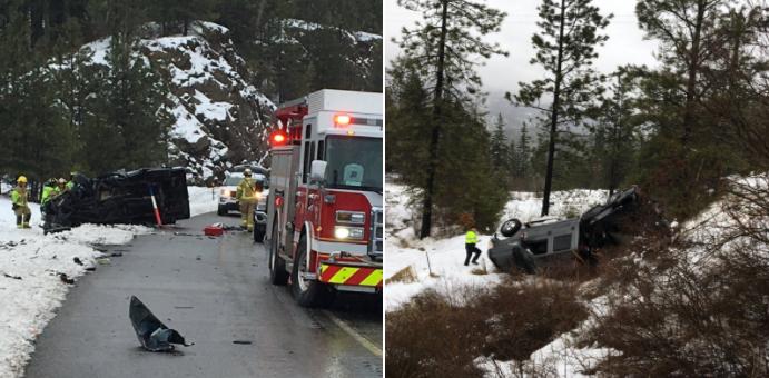 Car crash leaves one dead south of Coeur d'Alene   The