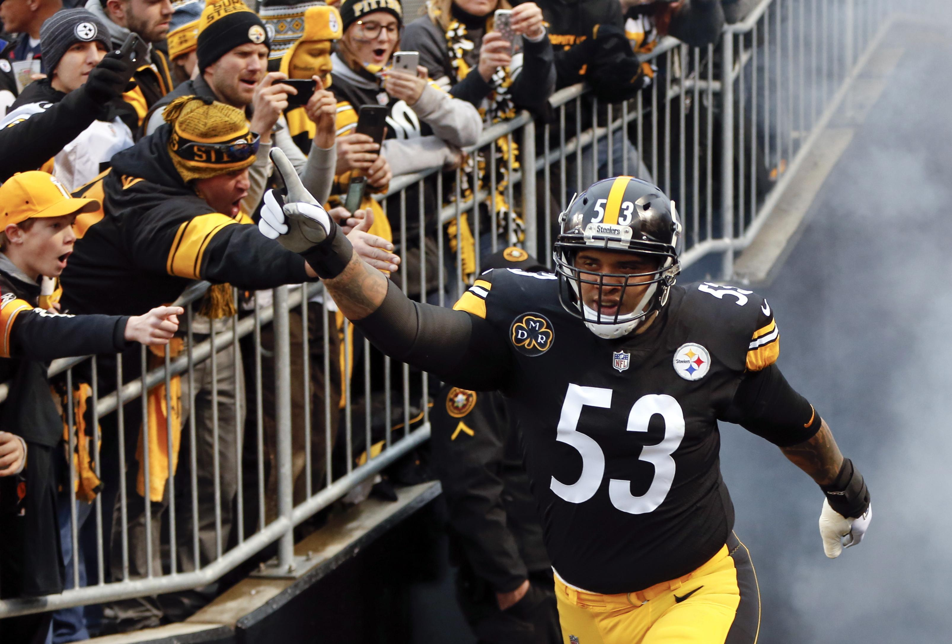 sports shoes 938e9 29385 Steelers shore up line, sign Maurkice Pouncey and Ramon ...