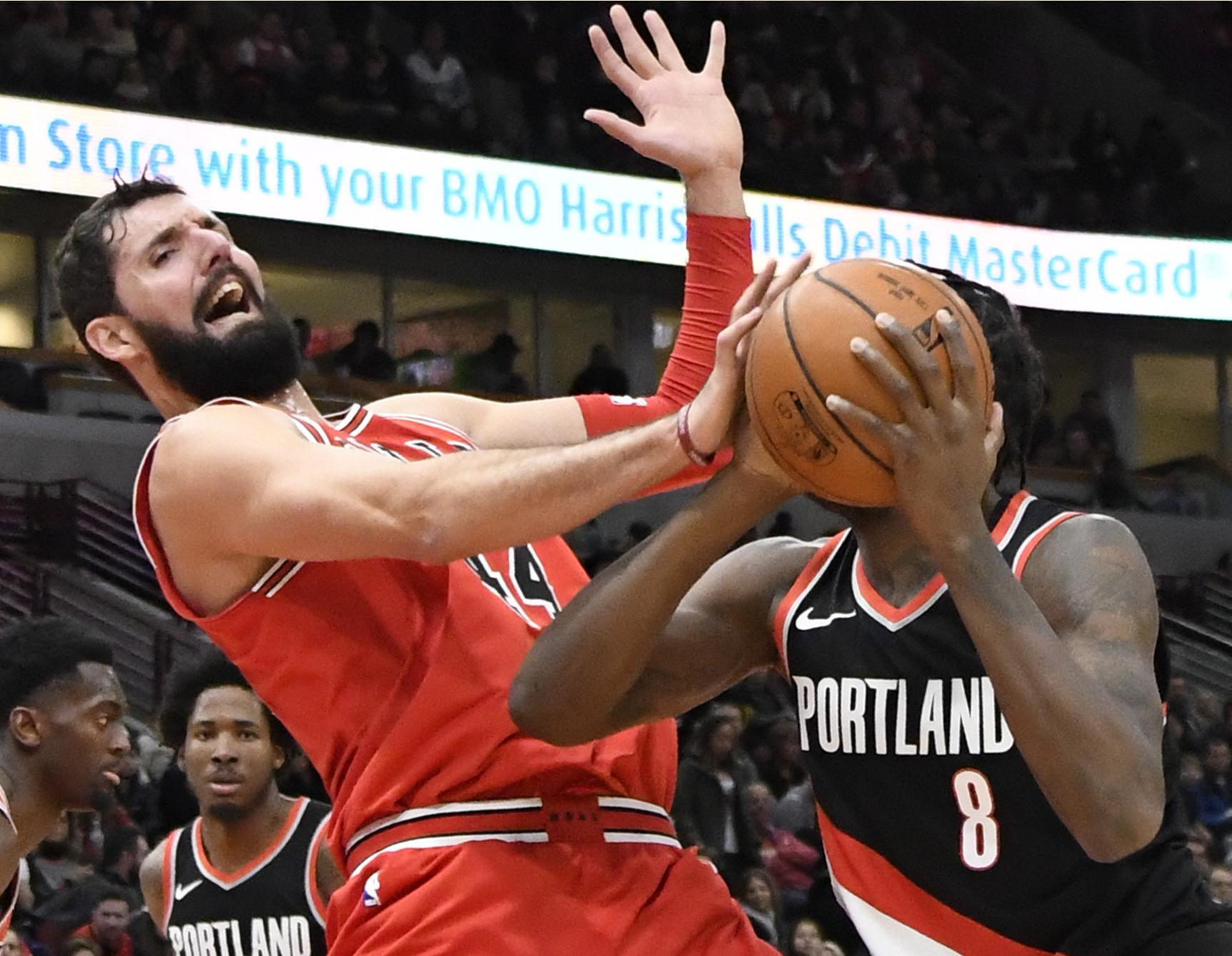 Pelicans acquire Nikola Mirotic from Bulls for 3 players and pick ... 4b3a048dd