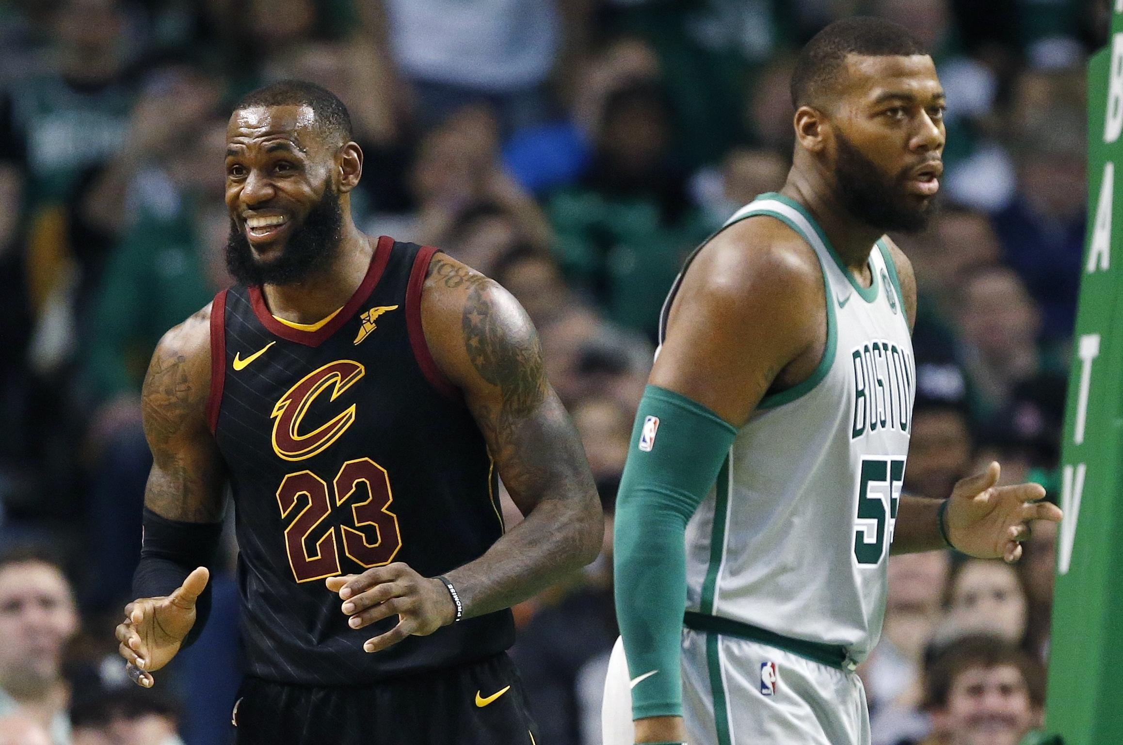 d49cd2f3bdb NBA capsules  Cavaliers beat Celtics 121-99 on Paul Pierce s day ...