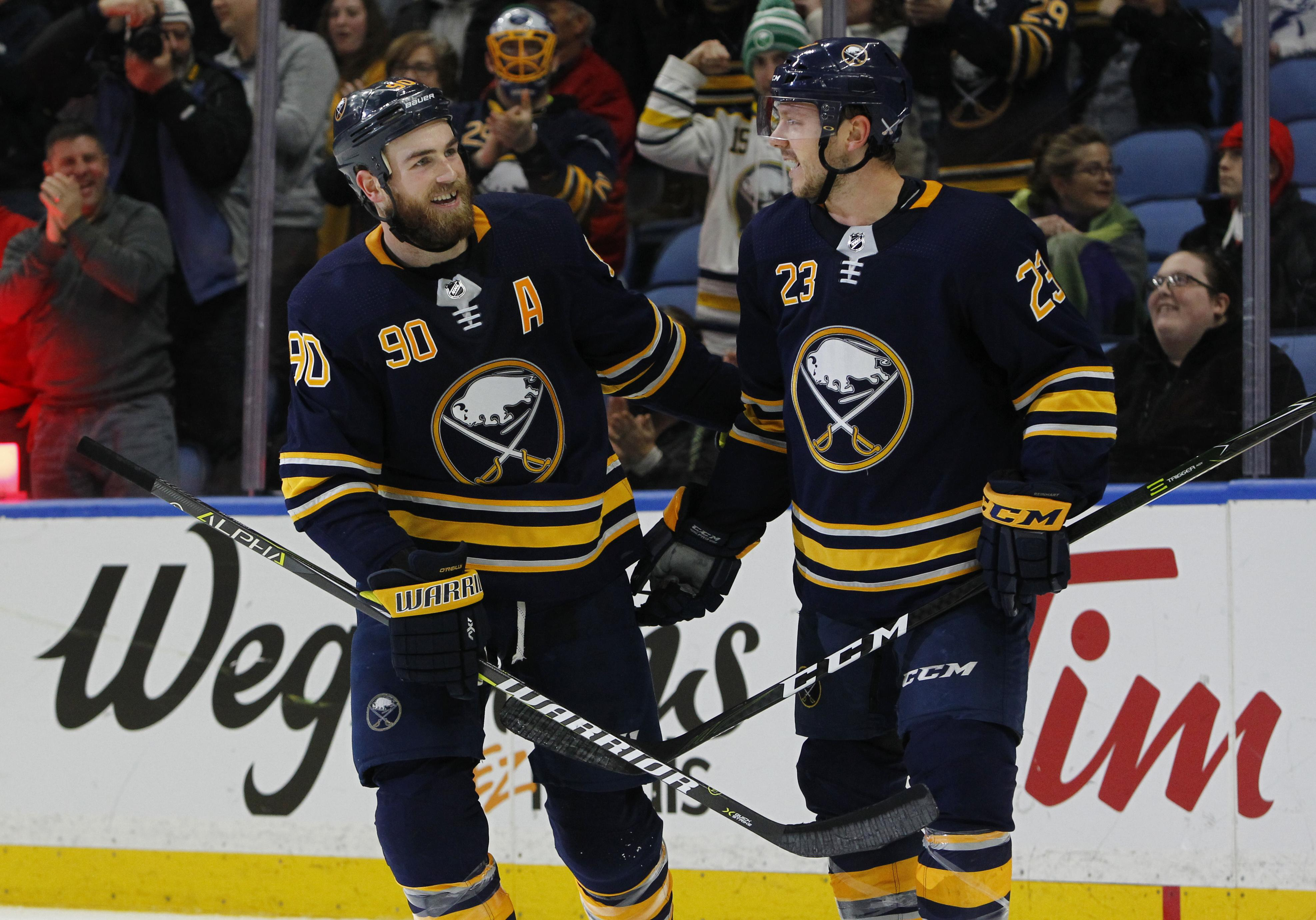 7d3a501746a NHL Capsules: Sabres get rare home win over East-leading Lightning ...