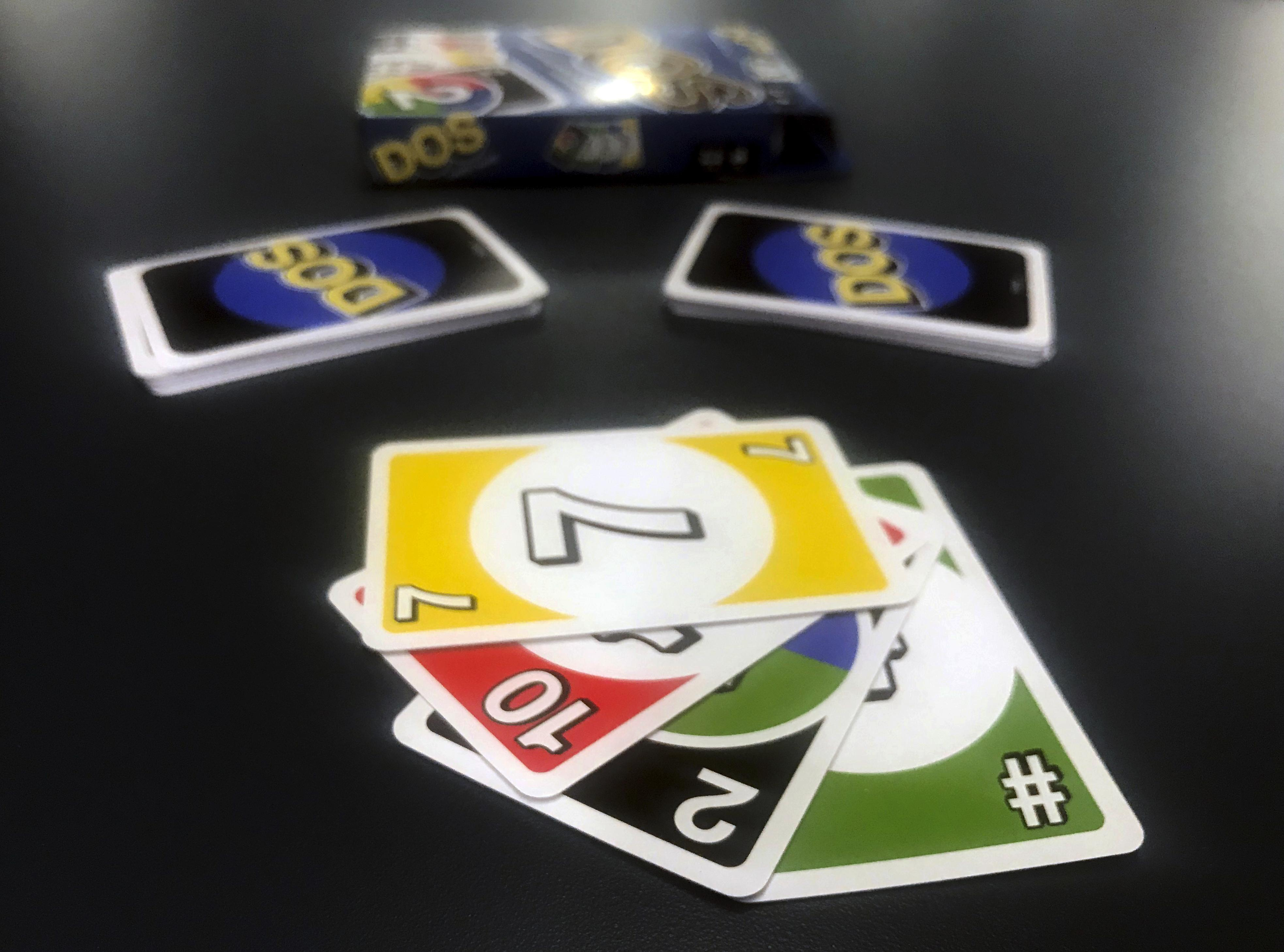 Mattel Doubles Down On Uno With A New Card Game Called Dos The