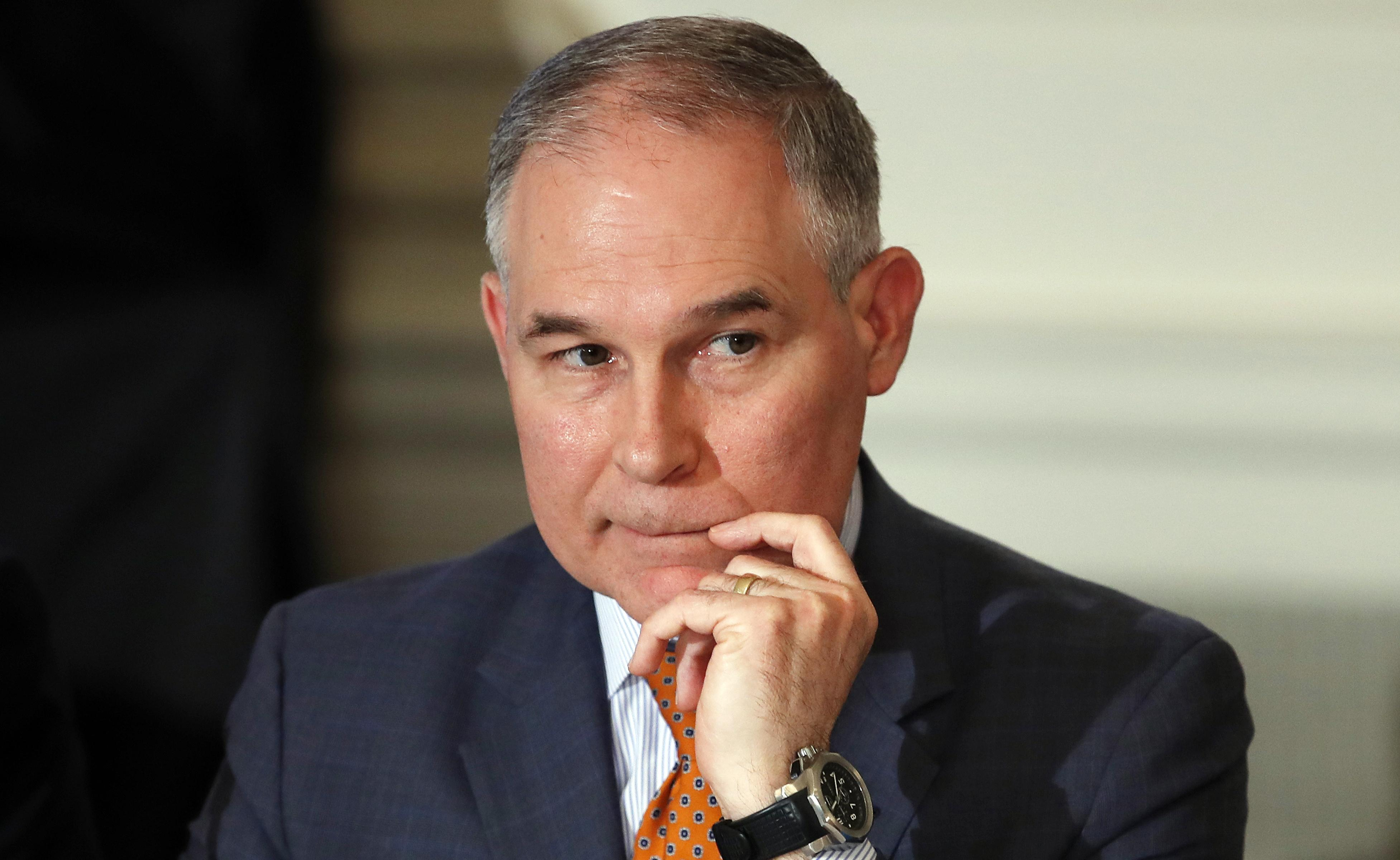 Why Theres Uproar Over Trying To >> After Uproar Epa S Pruitt Says He Plans To Fly Coach There S A