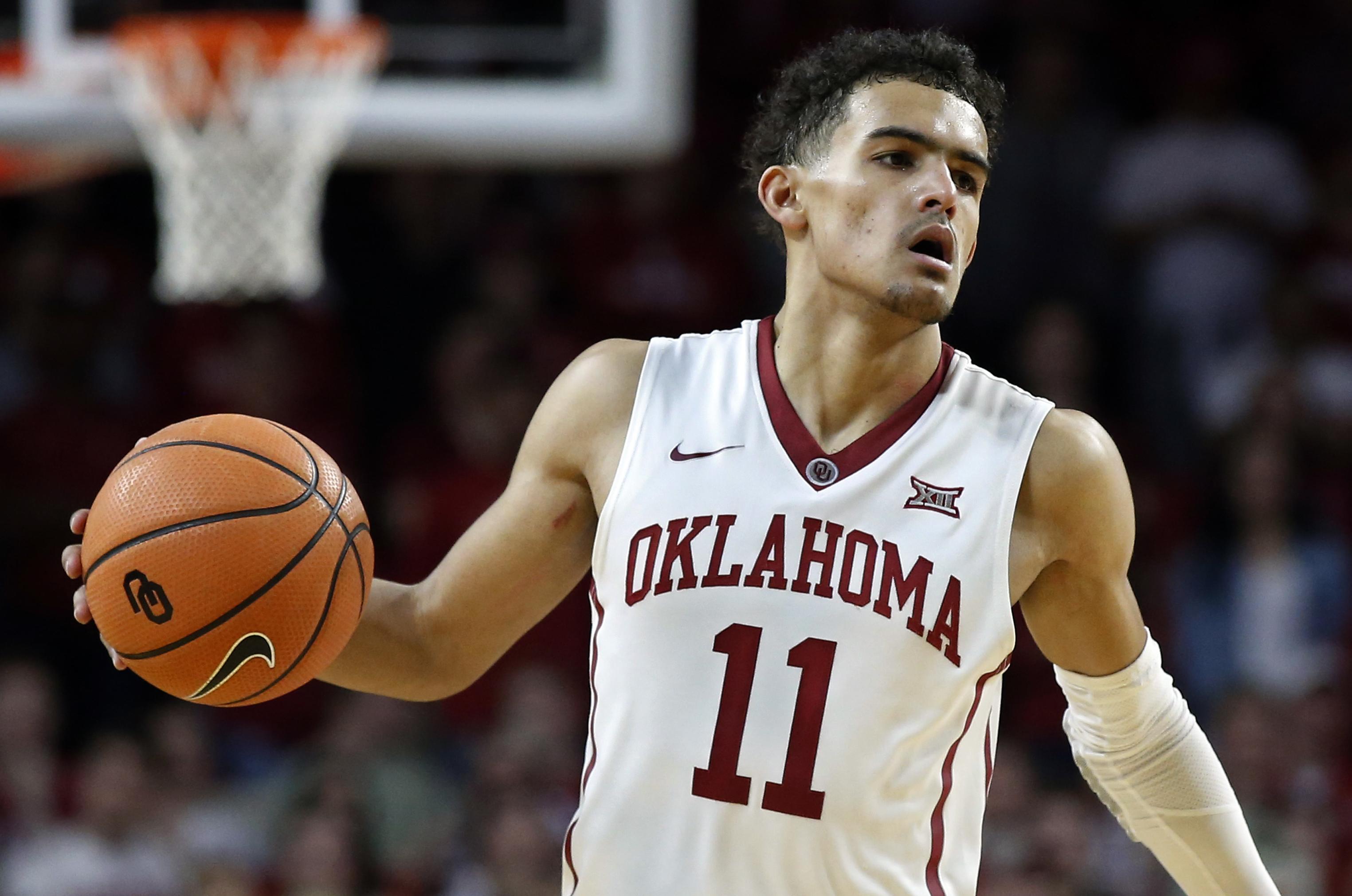 43f6ab6bba88 Oklahoma s Trae Young leaving for NBA after freshman season