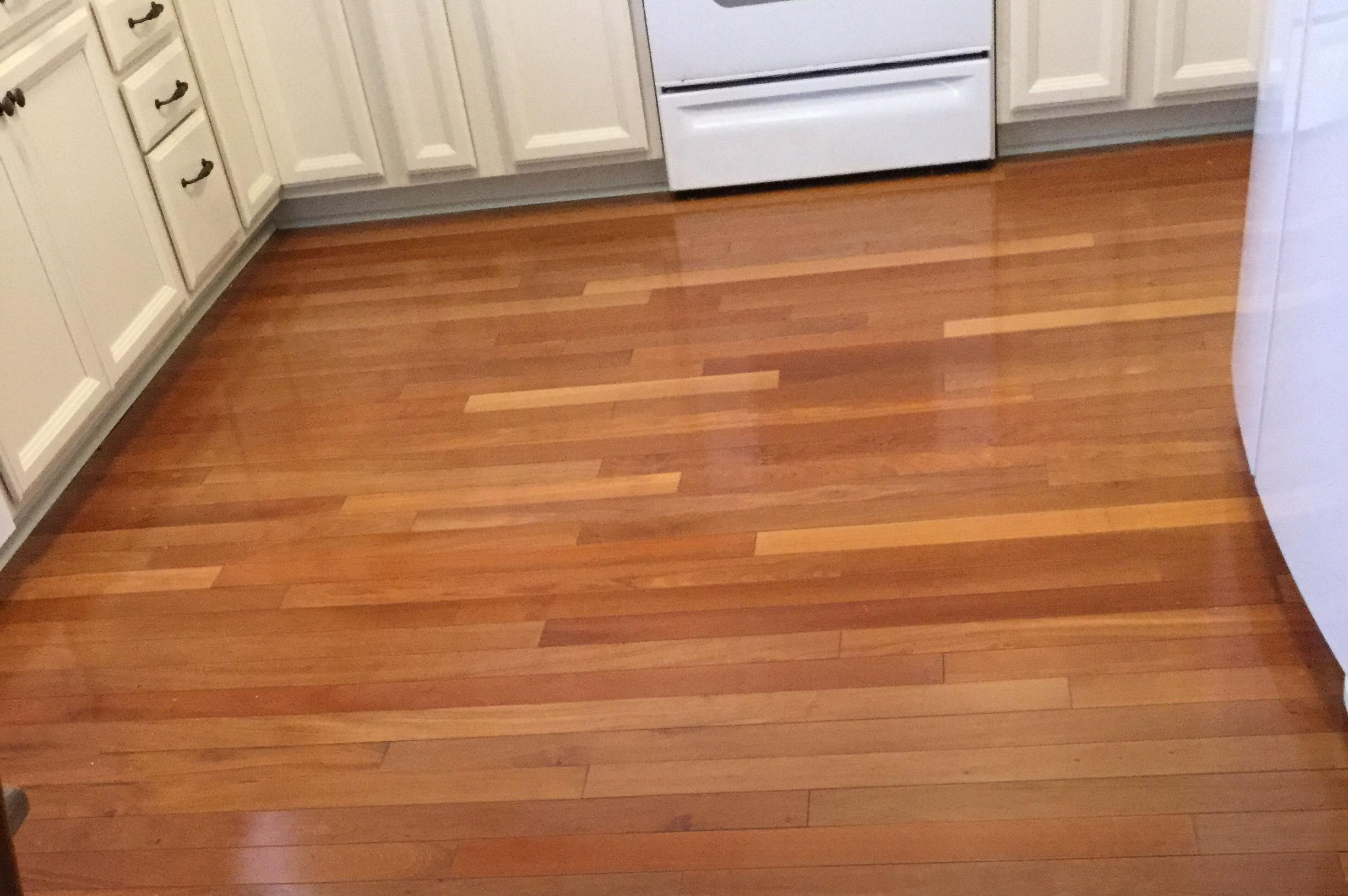 A Leaking Dishwasher Can Damage Hardwood Floor Rather Than Replace The Whole