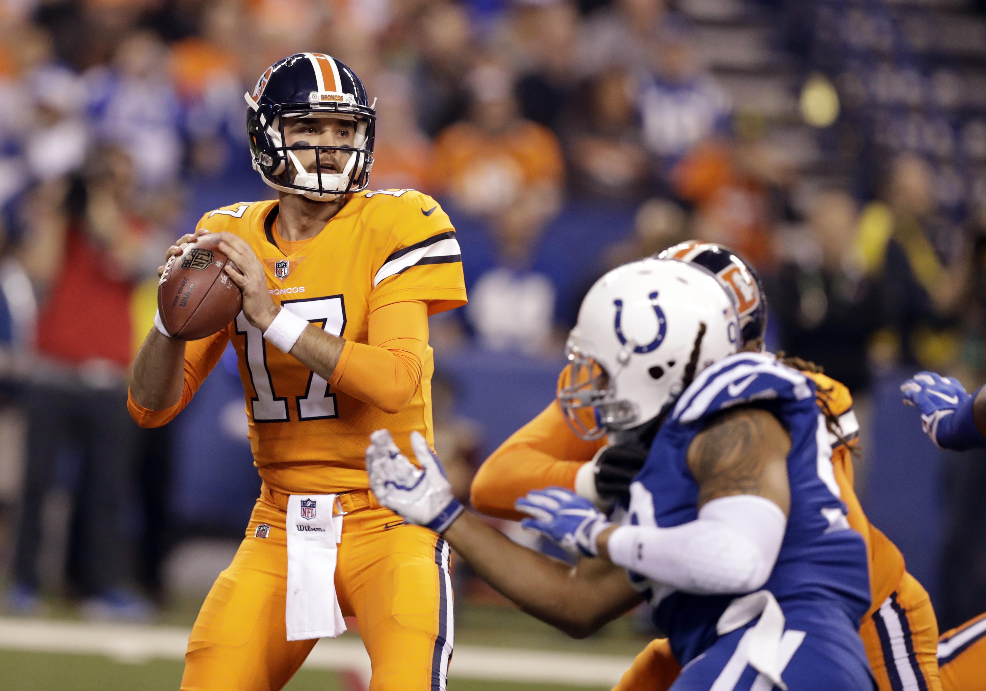 eb44f8052 QB Brock Osweiler signs 1-year deal with Dolphins | The Spokesman-Review