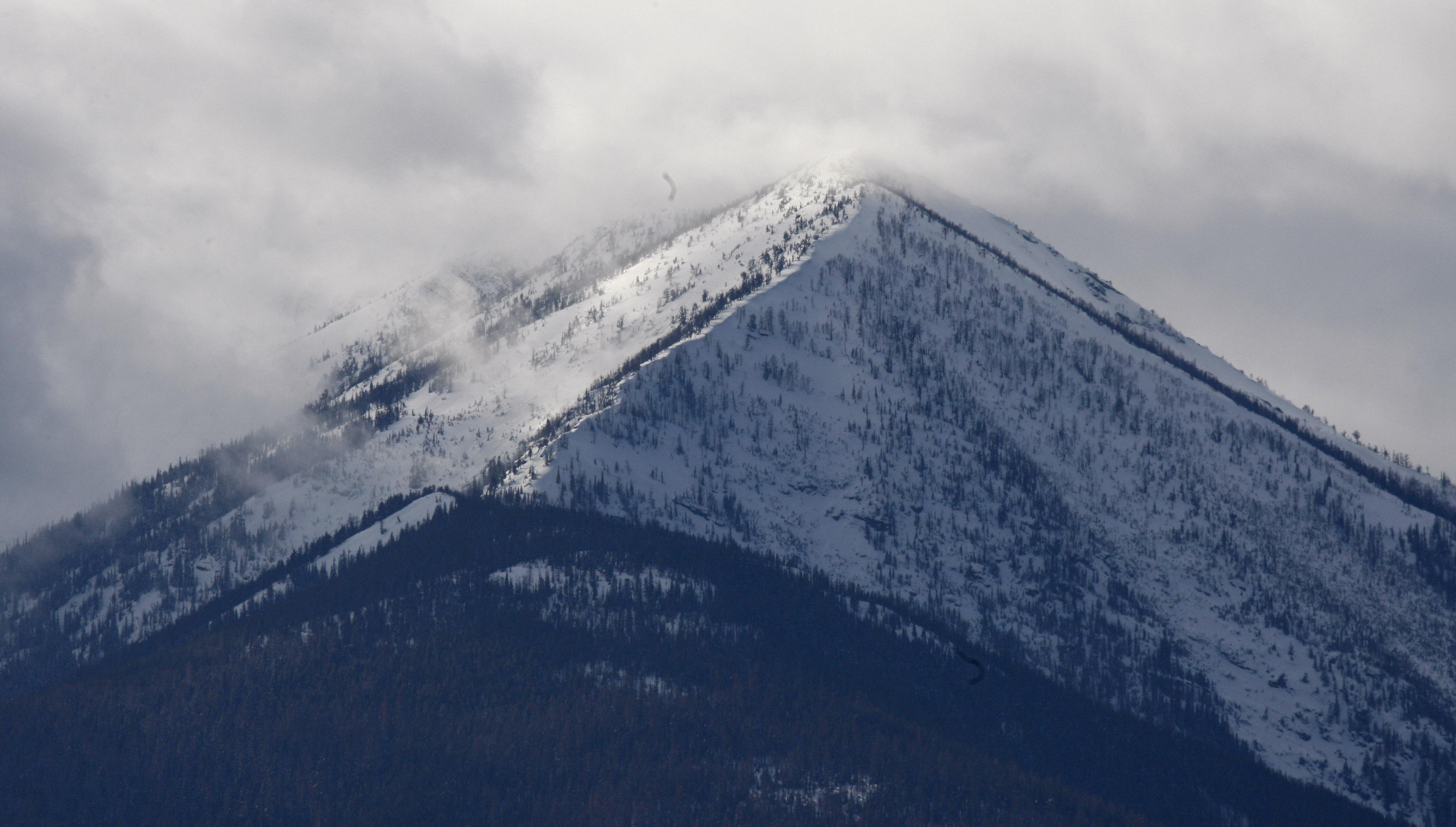 The Snowcapped Cabinet Mountains Tower Over The Lush Kootenai River Valley  On Feb. 17,