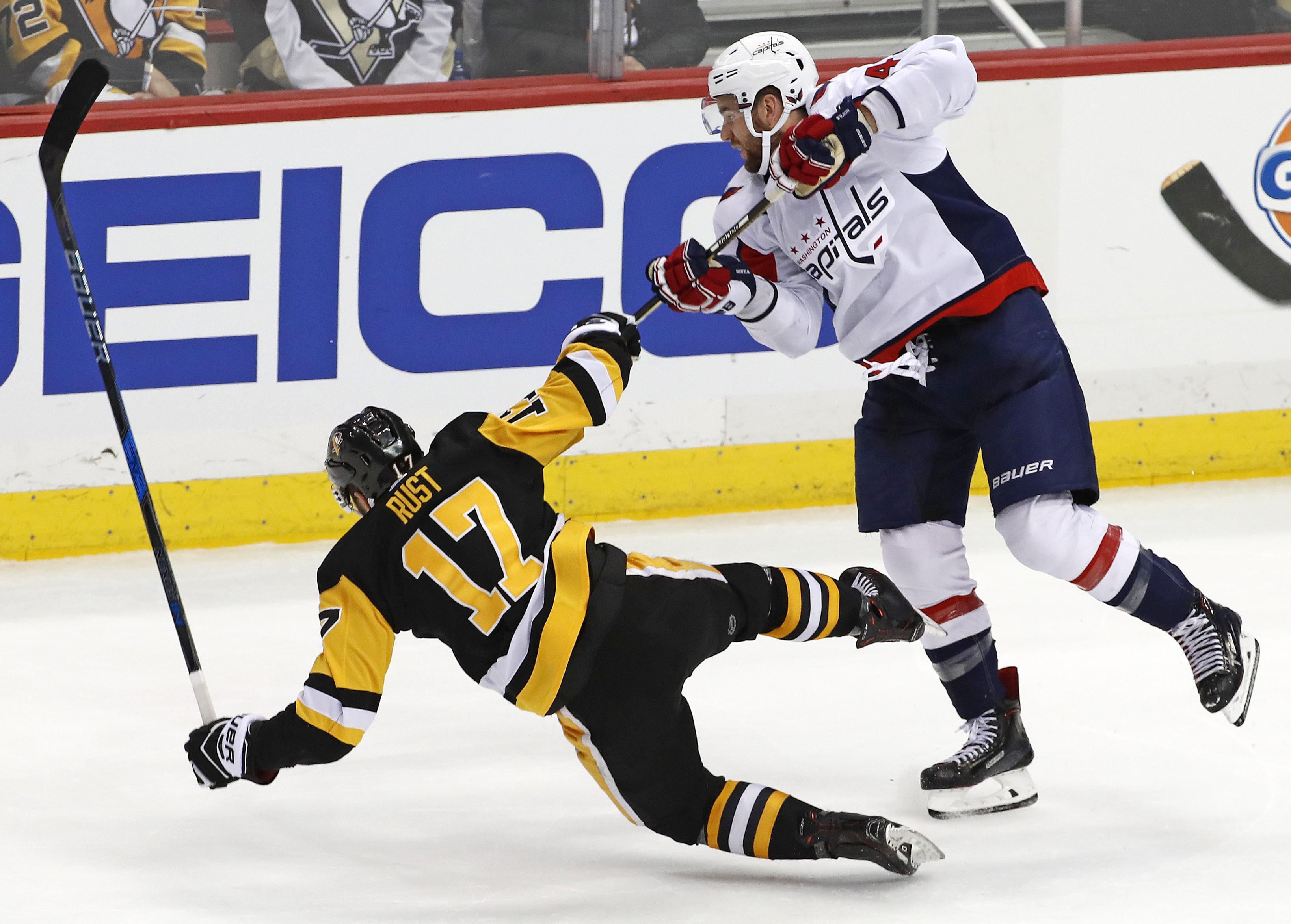 new arrivals 4c6d2 e9dbd NHL capsules: Capitals beat Penguins to clinch Metropolitan ...