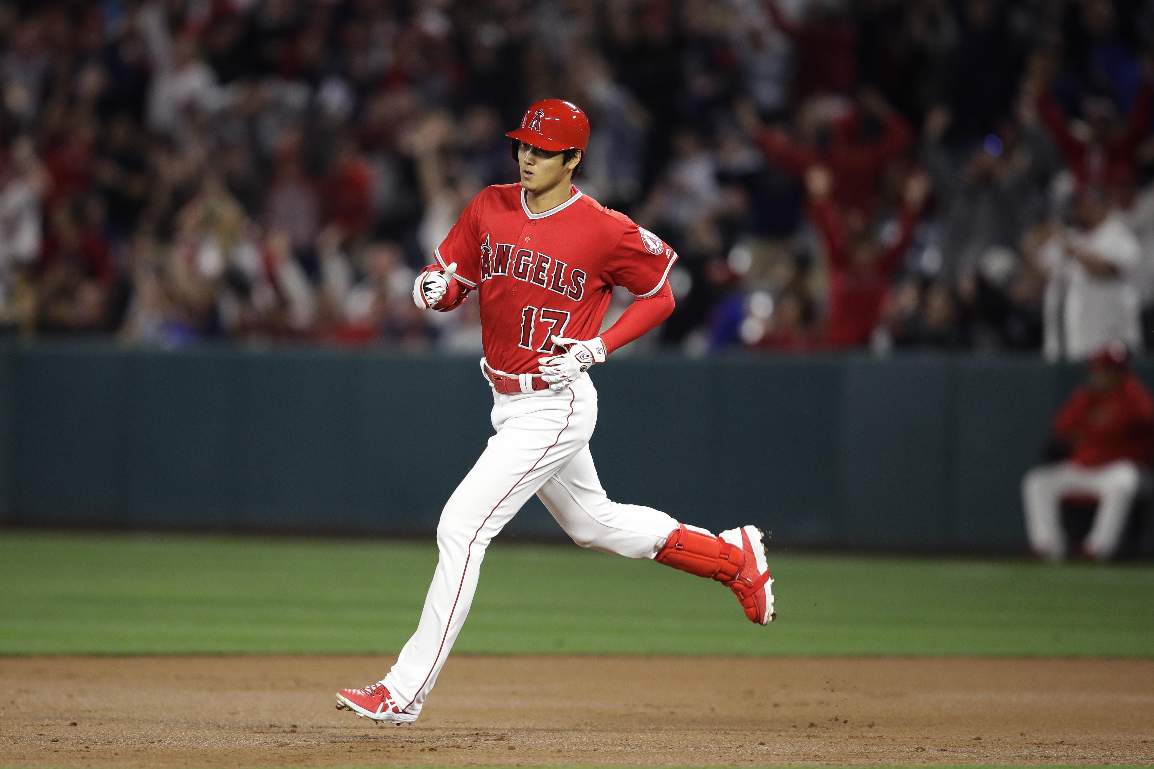 48cf3af1a3b MLB roundup  Shohei Ohtani homers as Angels pound Indians 13-2