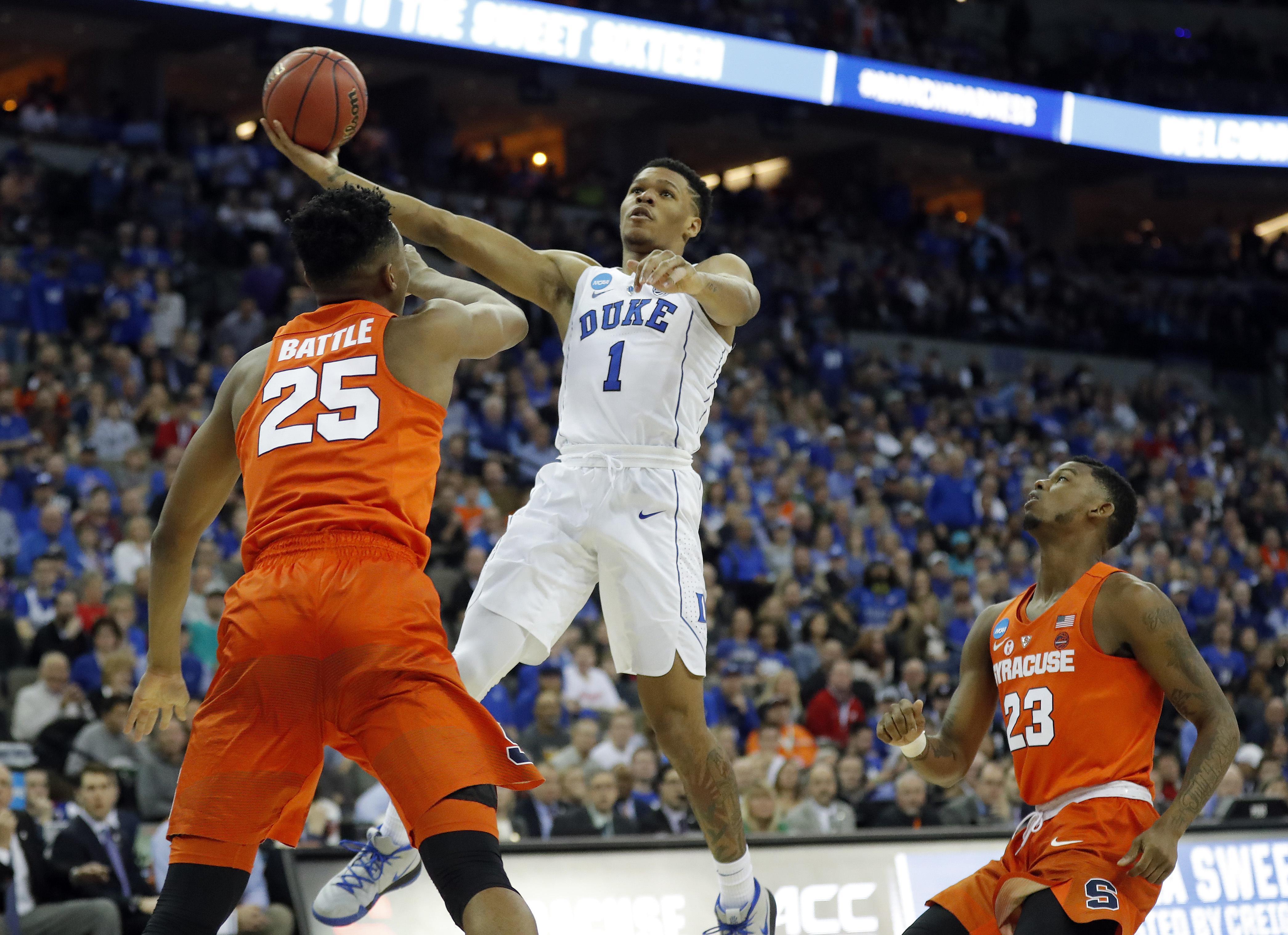 Duke Freshman Trevon Duval Enters NBA Draft, Plans To Hire
