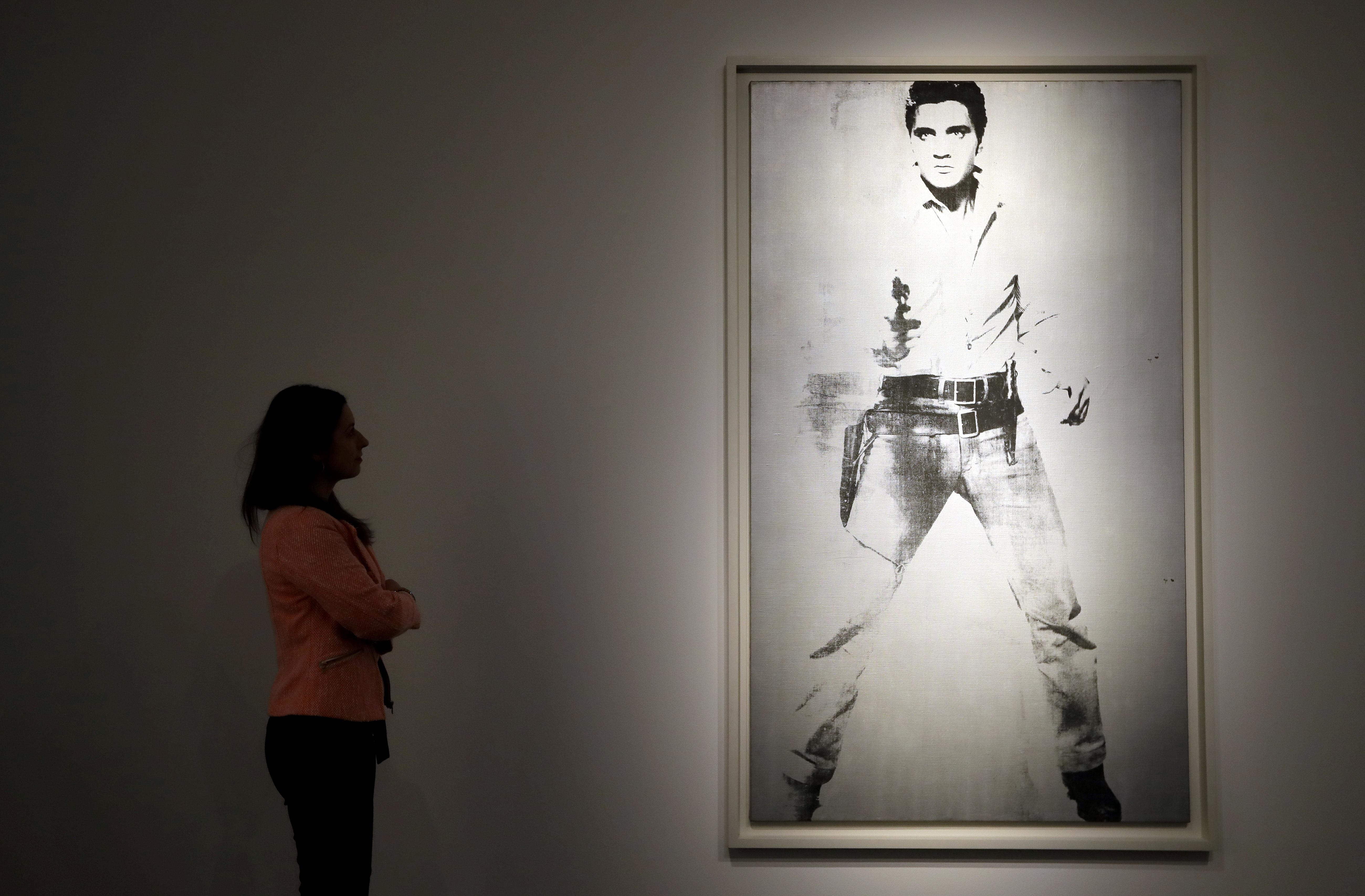 Andy Warhol's Elvis Presley portrait could fetch $30M at