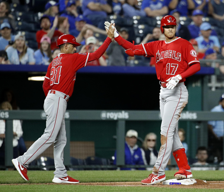 MLB capsules: Shohei Ohtani's 3-run triple leads Angels to 7
