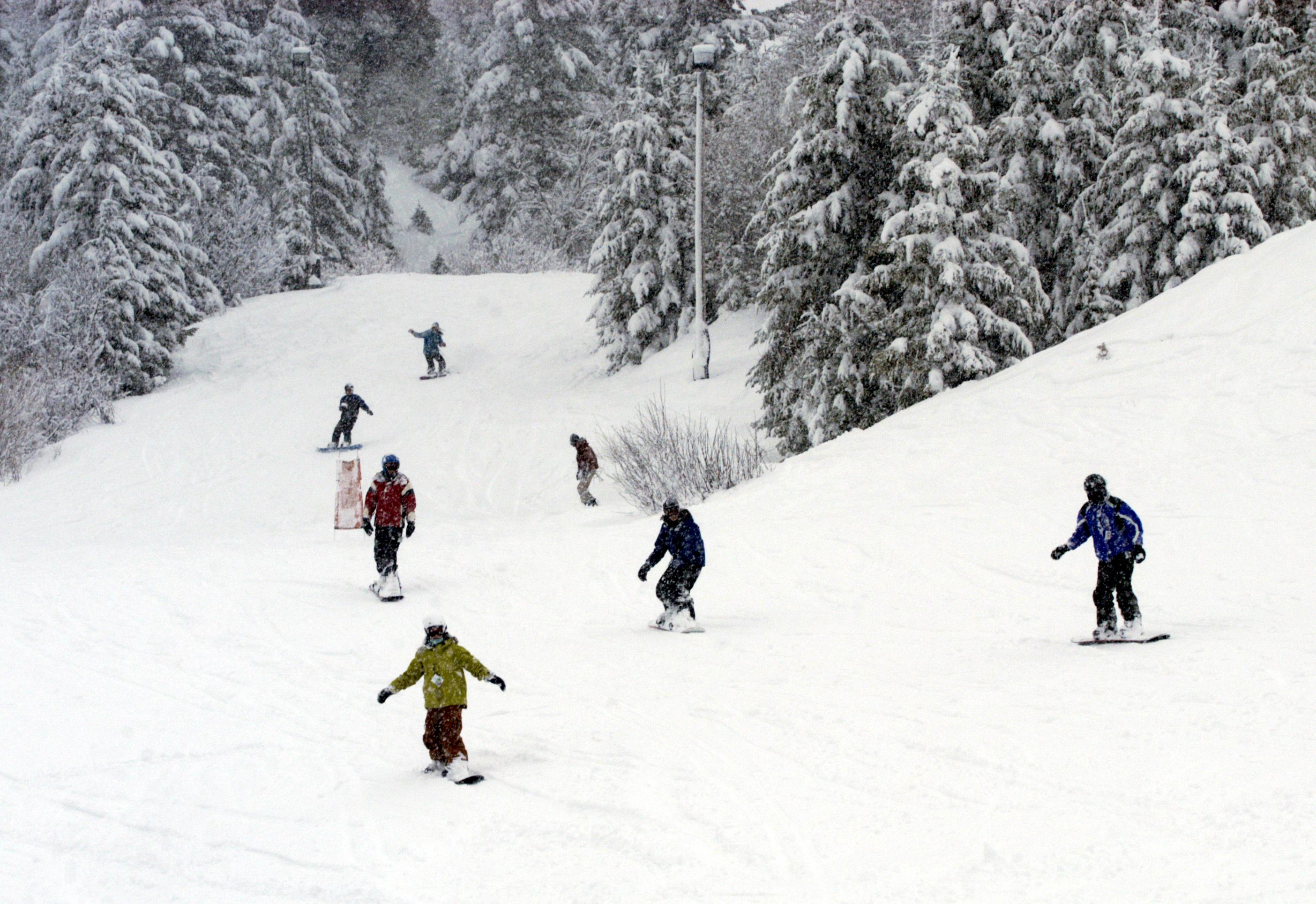 bogus basin ski area gets approval for snow-making system | the