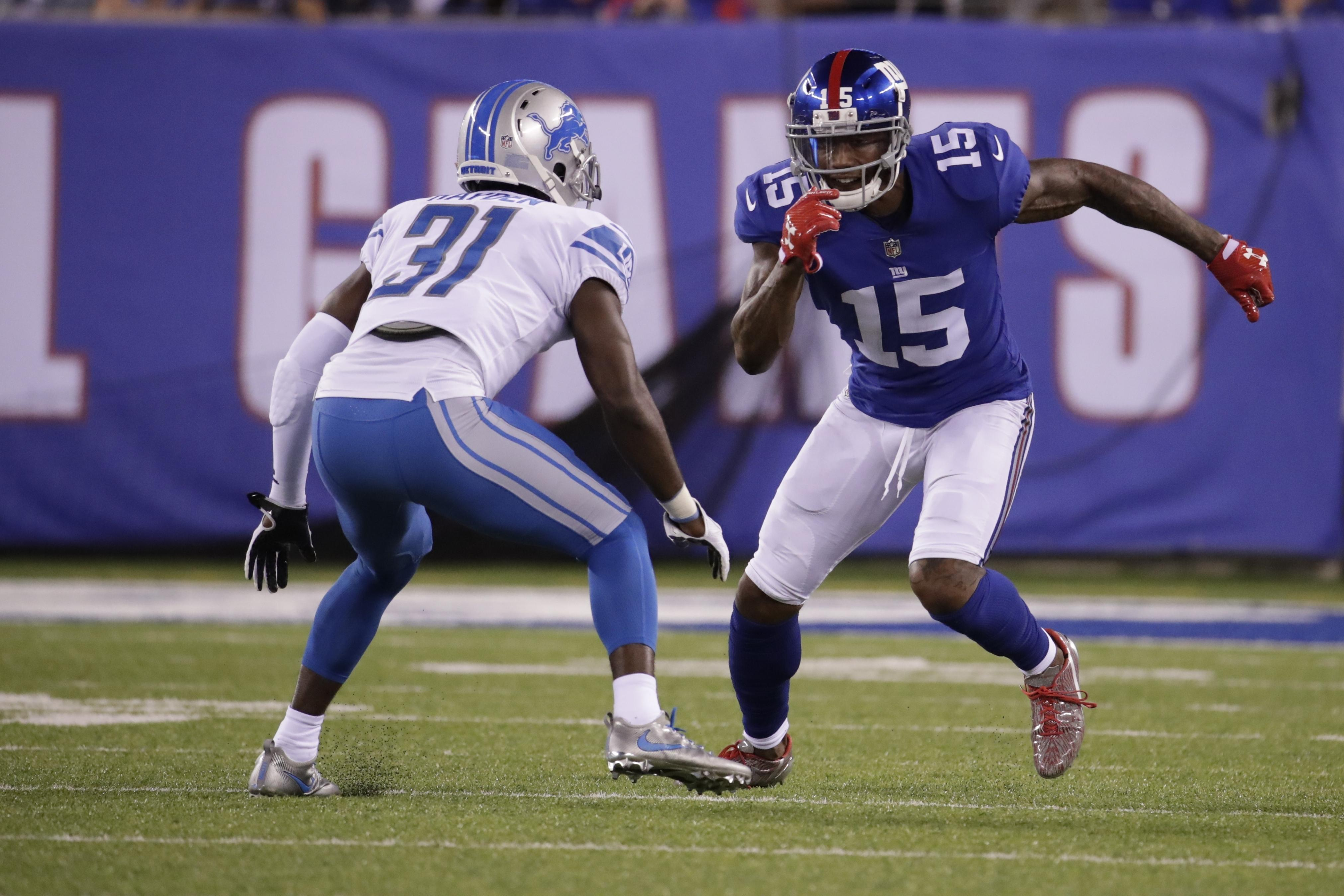 5b450a6e6bd The New York Giants have released receiver Brandon Marshall | The ...