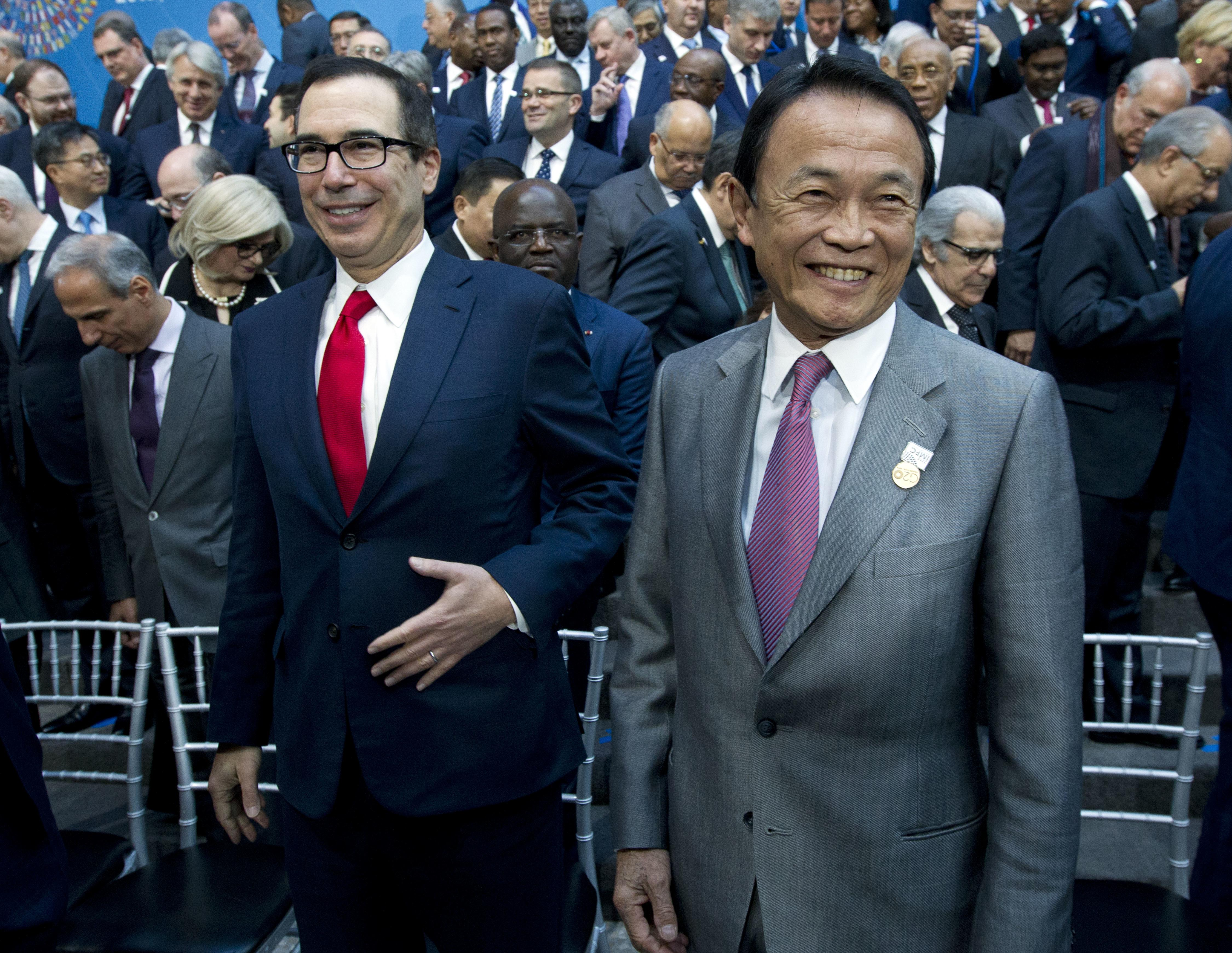 Pick For Us Education Secretary Rankles >> Mnuchin Expresses Optimism For Resolution Of Trade Fights The