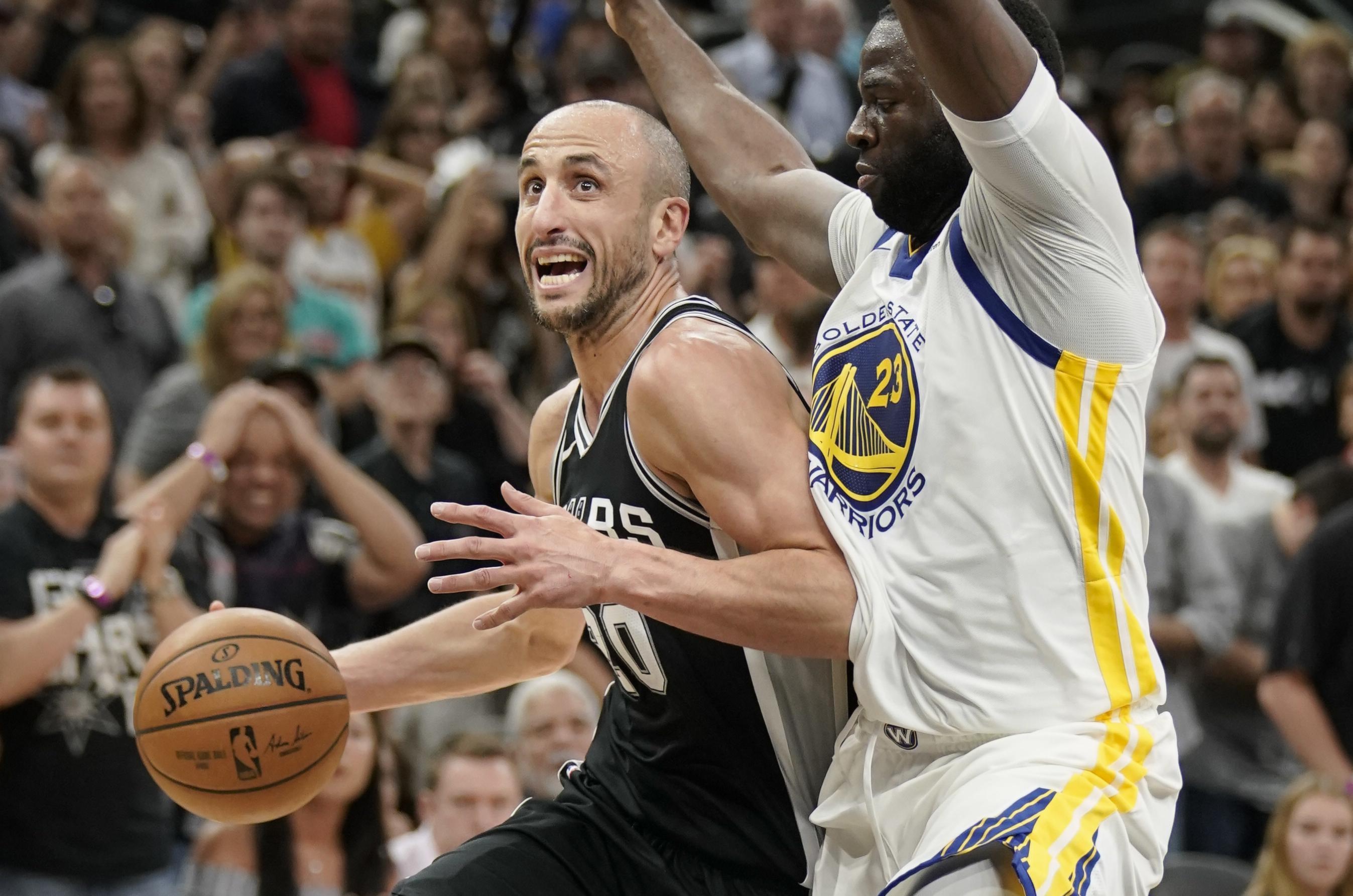 11940433bcc3 NBA playoffs  Spurs stay alive behind Manu Ginobili s big finish ...