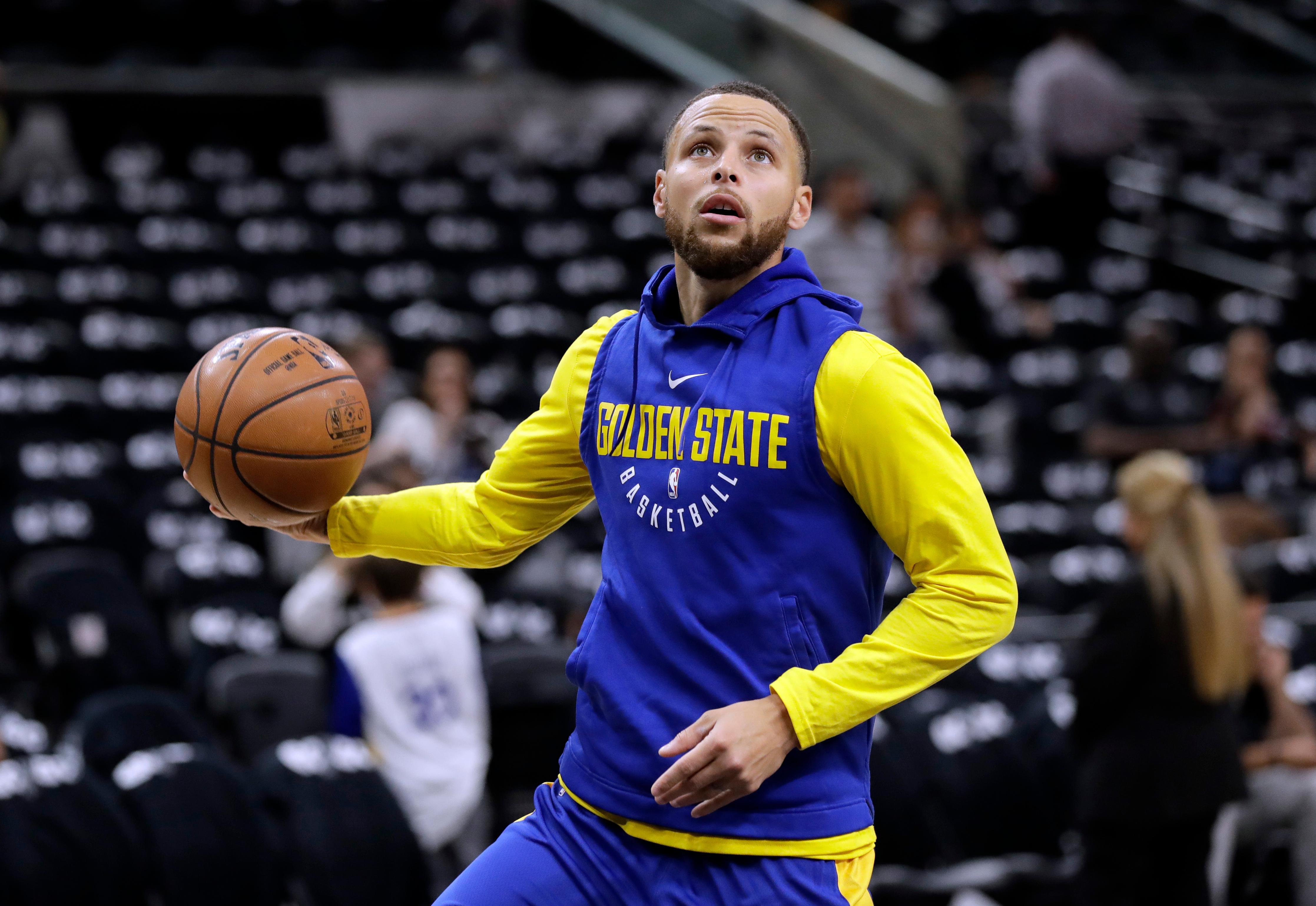 99d05da3aea2 Stephen Curry back in full practice mode for Warriors