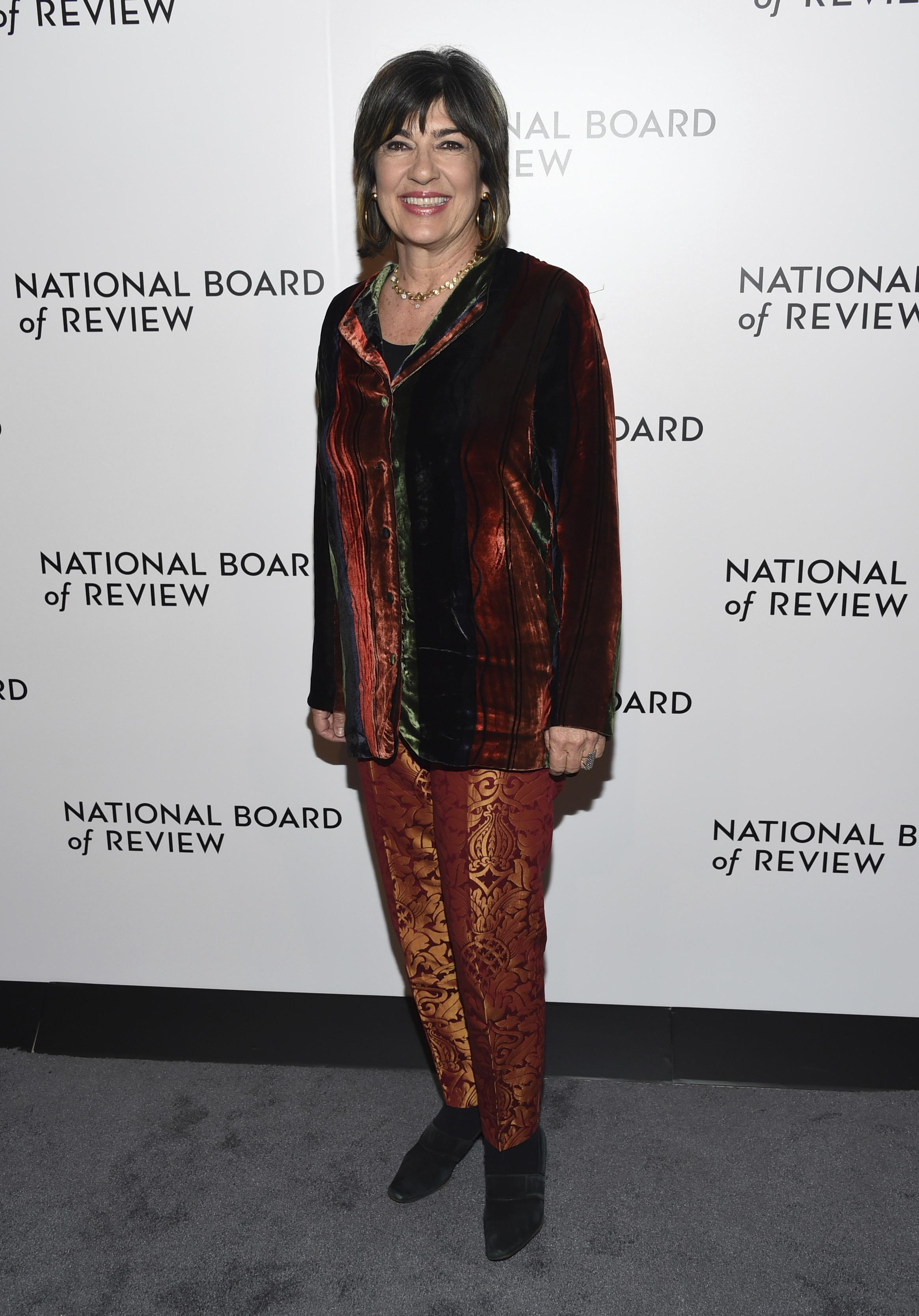 05c459867b7b Christiane Amanpour attends the National Board of Review Awards Gala at  Cipriani 42nd Street on Tuesday