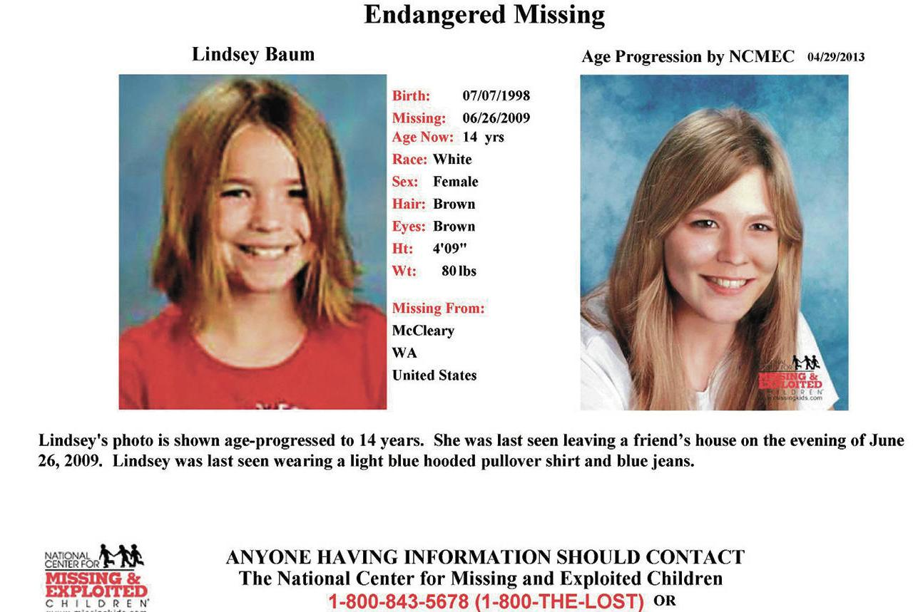 Remains of Grays Harbor County girl missing since 2009 found in