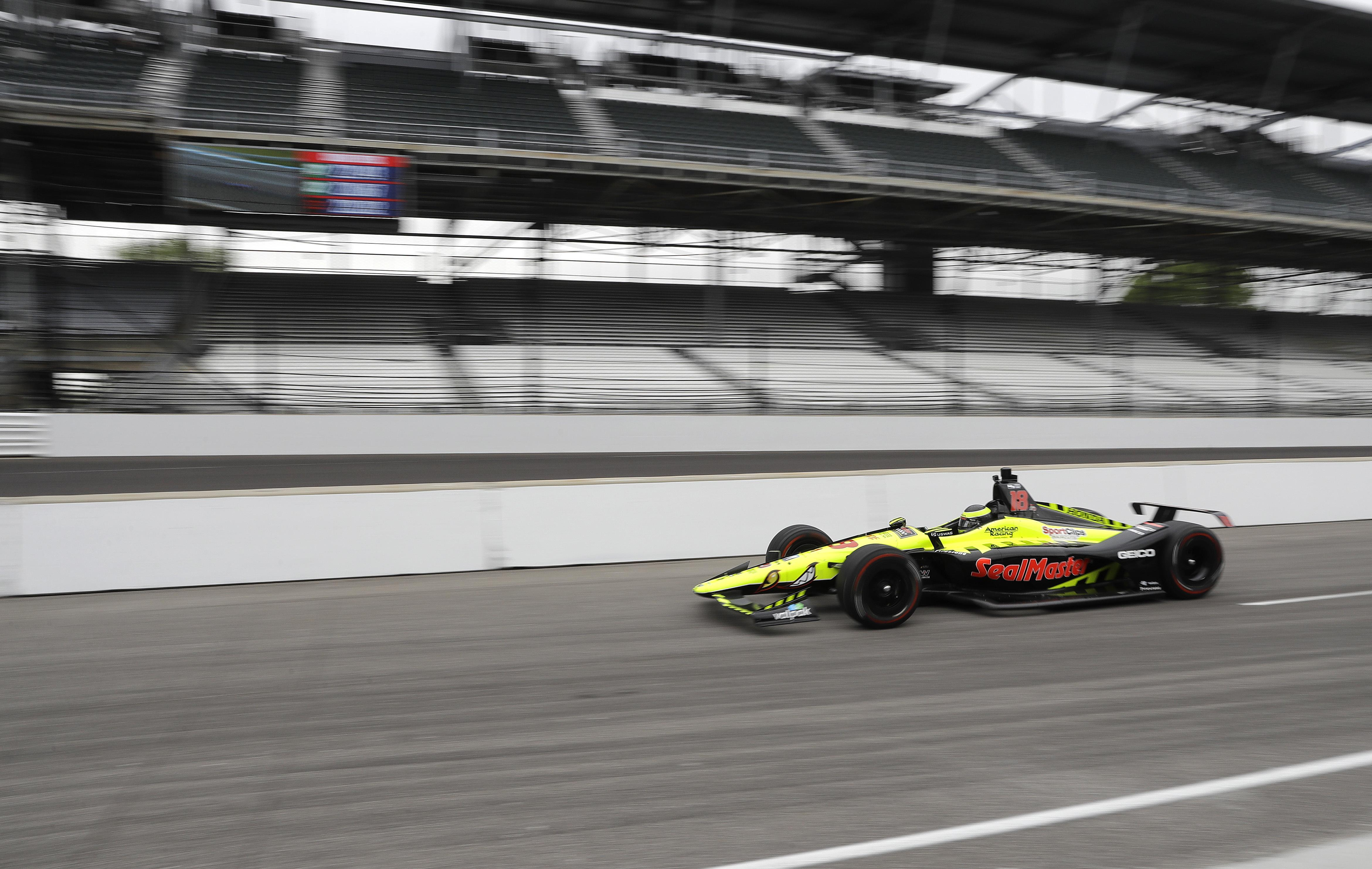 Marco Andretti tops speed chart again in Indianapolis 500 practice ...