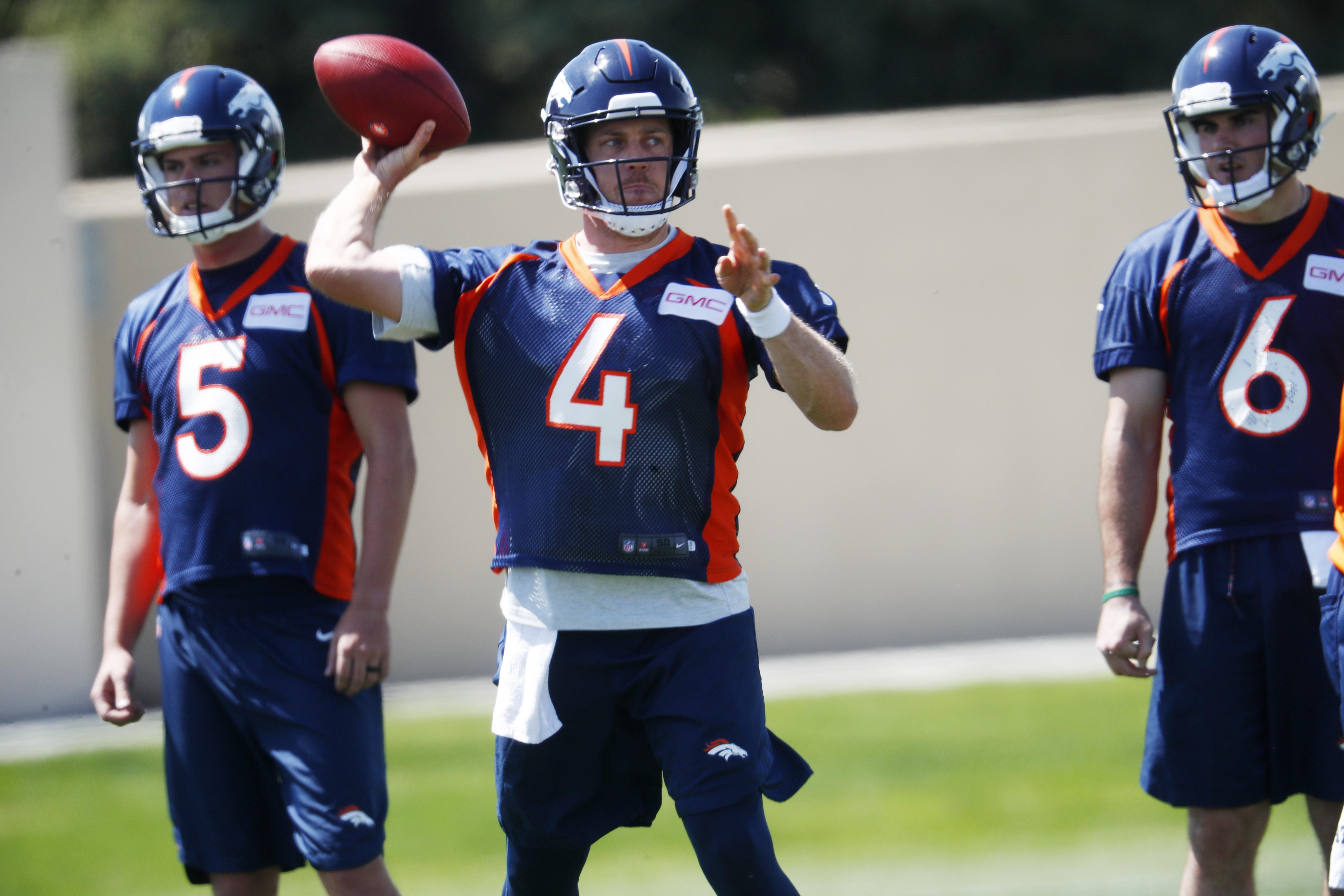 size 40 347a3 9eb57 Broncos new QB Case Keenum gets first taste of Denver's ...