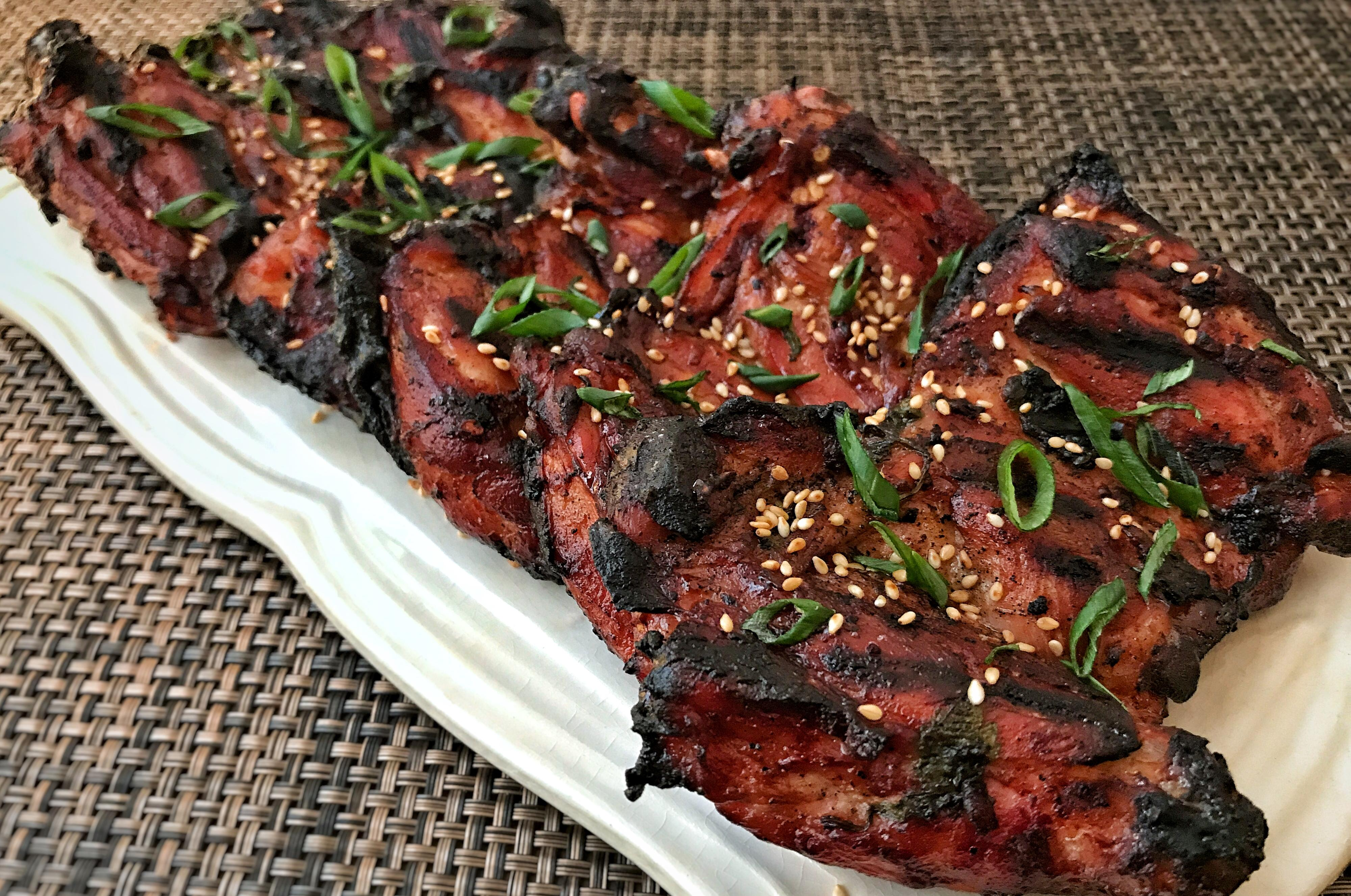 Dorothy dean presents filipino style barbecue chicken the get your grill on this memorial day weekend with this filipino style barbecue chicken thighs forumfinder Choice Image