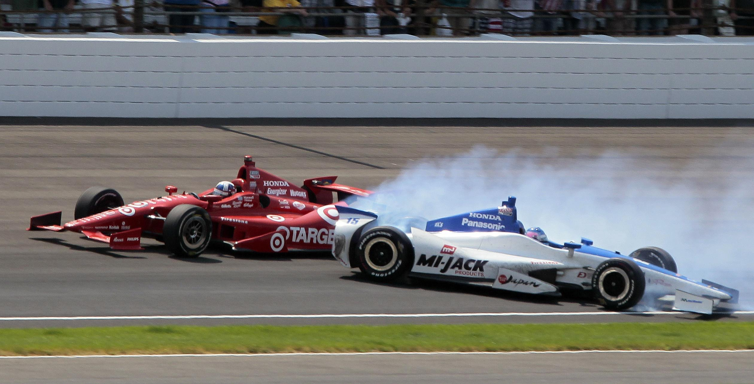 How Many Laps In Indy 500 >> Close Calls Force Indy 500 To Learn Lessons Coping Skills The