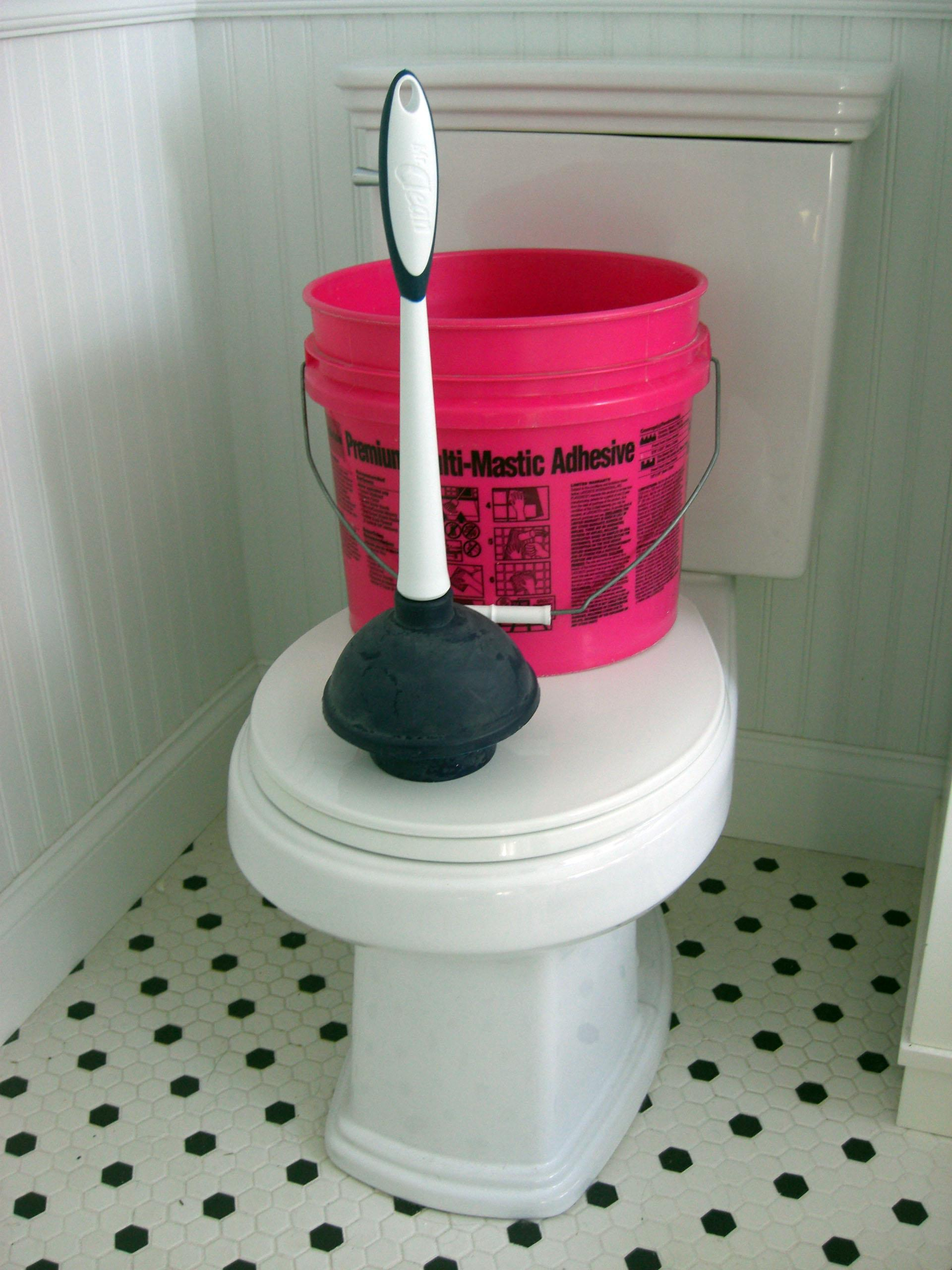 ask the builder a bucket of water can usually do what your plunger can the spokesman review. Black Bedroom Furniture Sets. Home Design Ideas