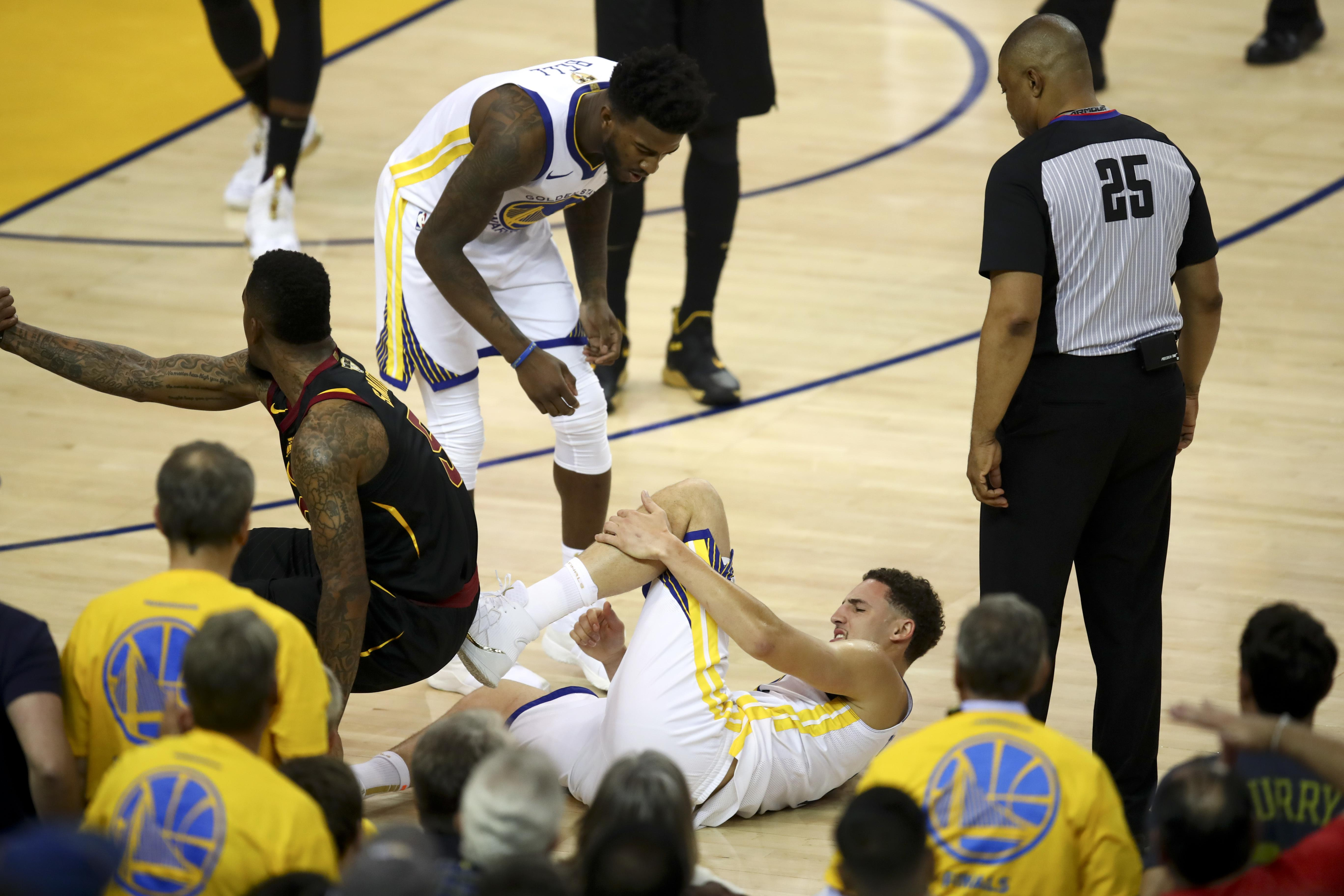8fdf8eb65995 Golden State Warriors guard Klay Thompson expects to play Finals ...