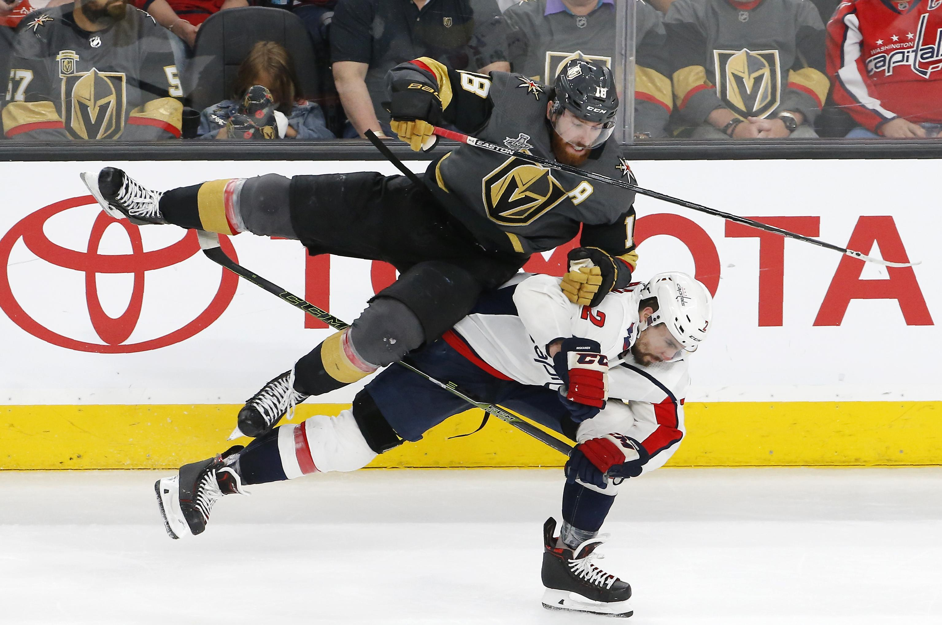 ccdd93e3c7e Capitals  suffocating pressure is frustrating Golden Knights in ...