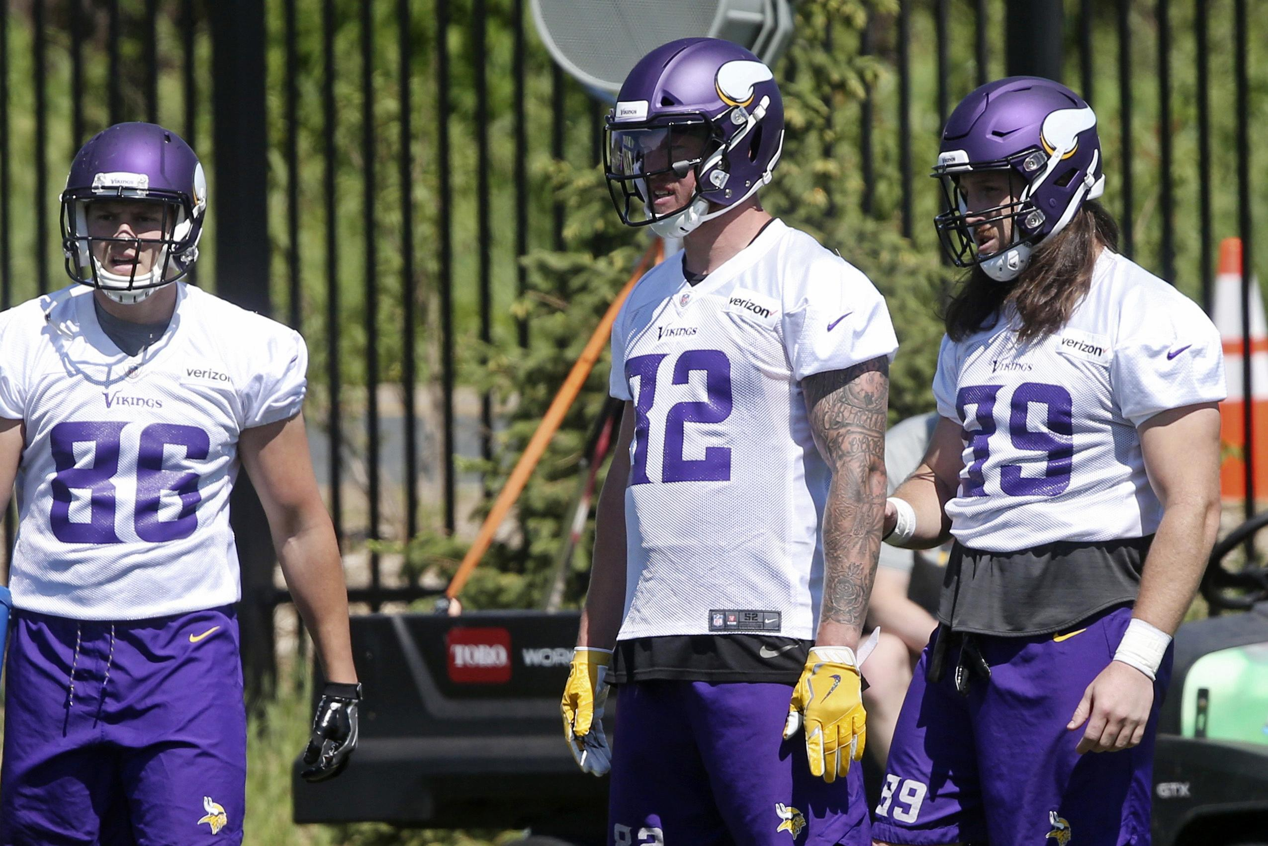 huge discount b5990 9621f Kirk Cousins targeting Kyle Rudolph 'like throwing into a ...