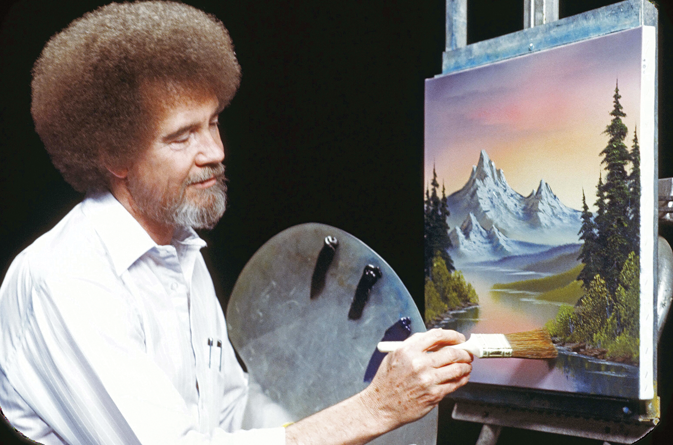 Image result for bob ross mountain majesty