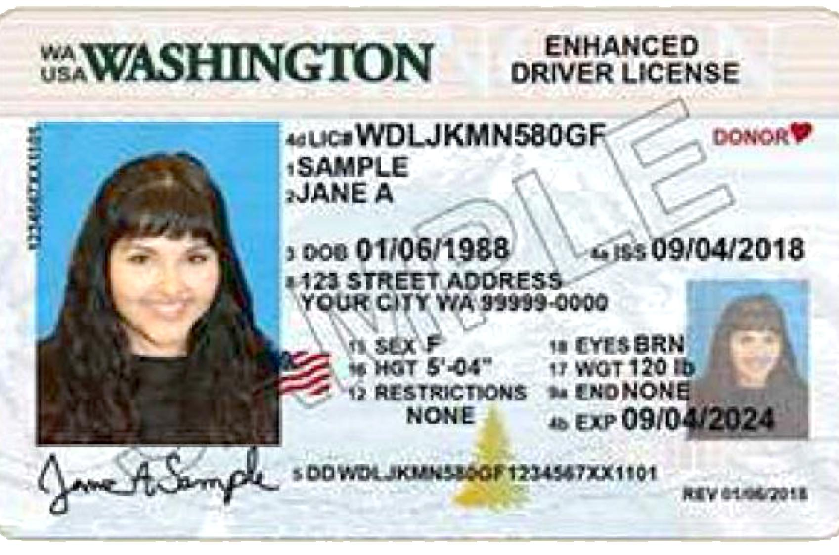 Washington The On To Cards July Id Spokesman-review Driver's Licenses 1 Change