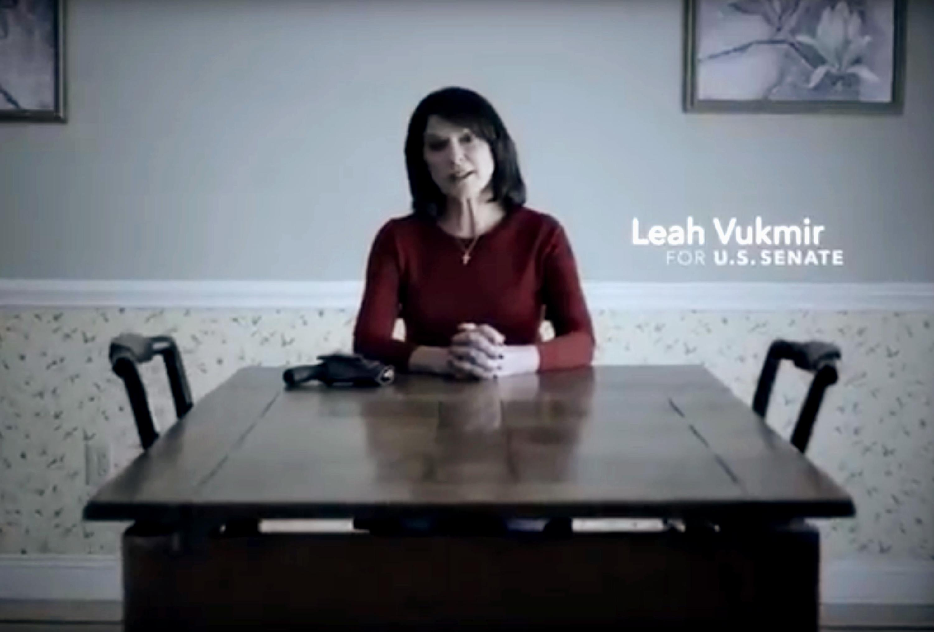 Gun by her side, GOP U.S. Senate candidate talks of threats | The ...